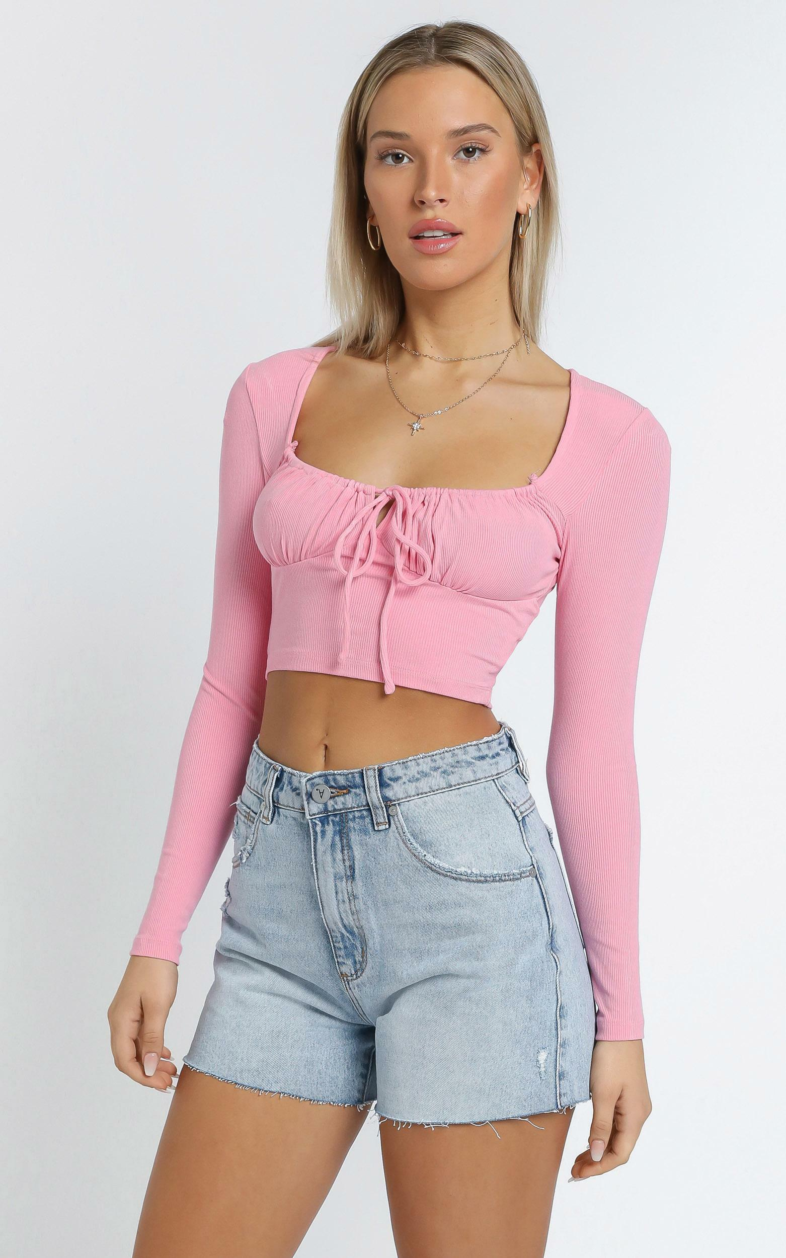 Paolo Top in Pink - 14 (XL), Pink, hi-res image number null