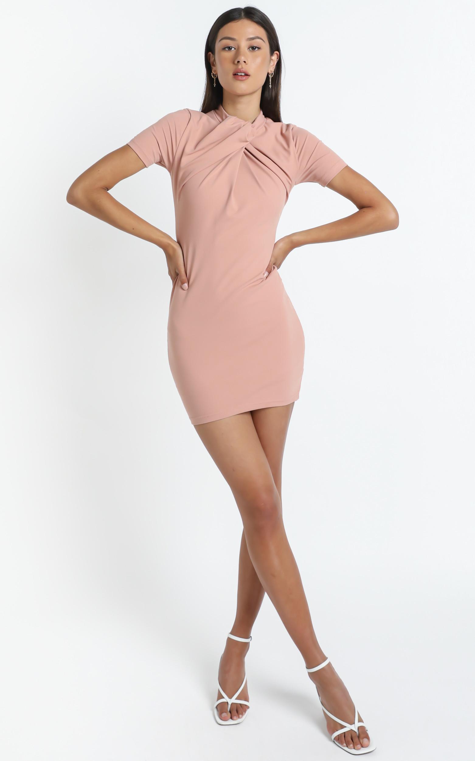 Rudie Dress in Beige - 14 (XL), CRE1, hi-res image number null
