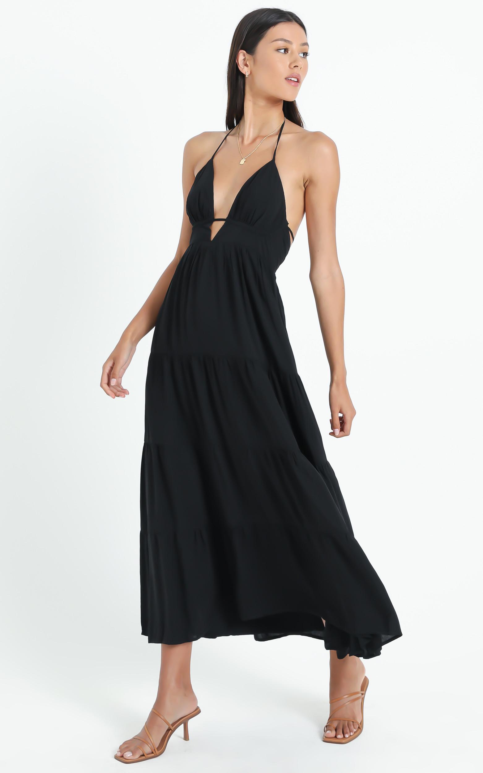 Daere Dress in Black - 6 (XS), Black, hi-res image number null