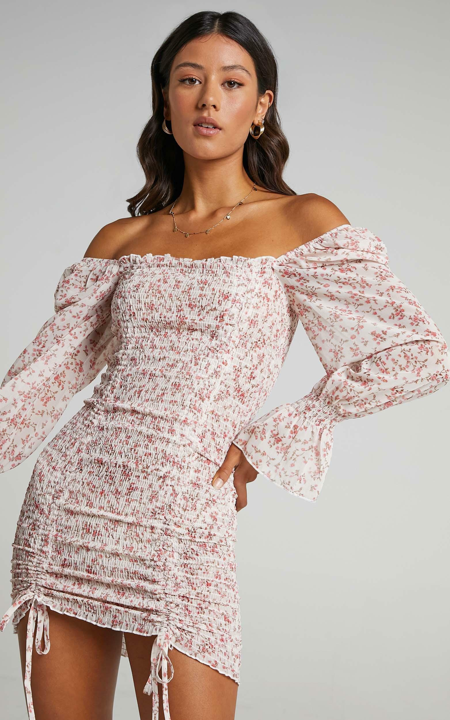 Another Voice dress in pink floral - 6 (XS), PNK29, hi-res image number null