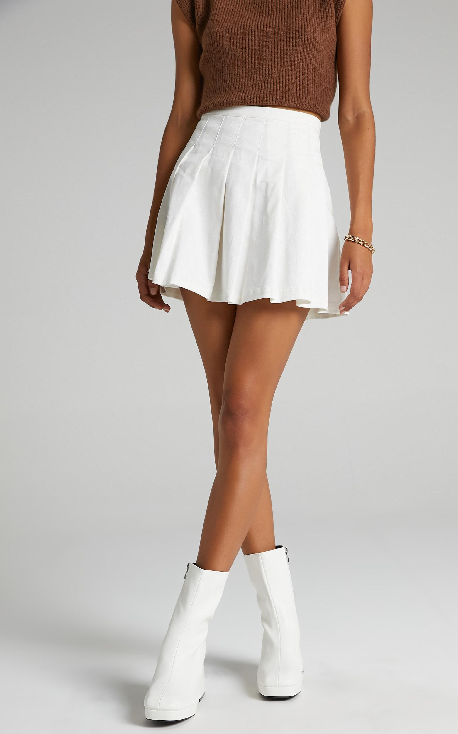 Public Desire - Imagine Boots in White - 5, White, hi-res image number null