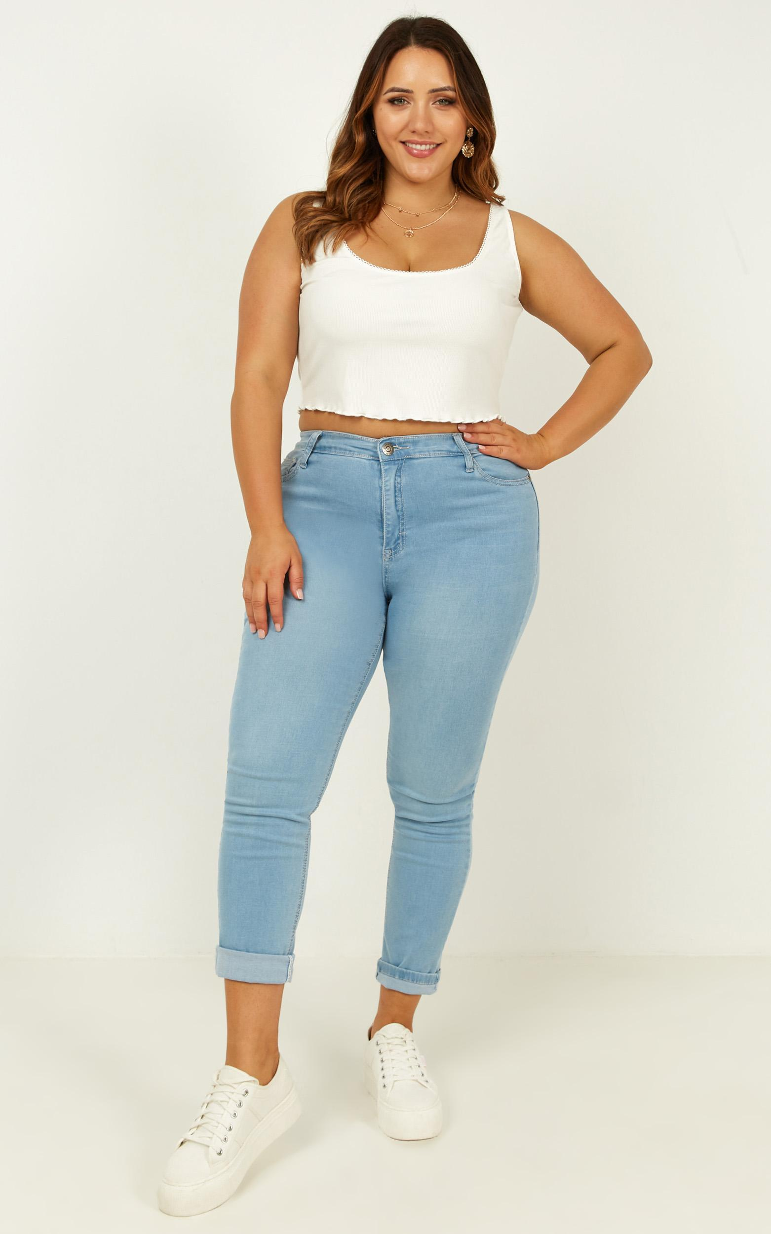 Finding Sunshine top in white - 20 (XXXXL), White, hi-res image number null