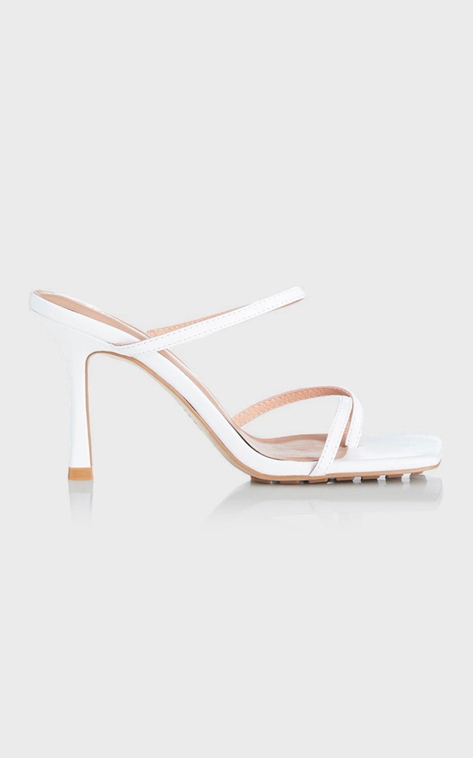 Alias Mae - Lexis Heel in White Kid Leather - 10.5, WHT1, hi-res image number null