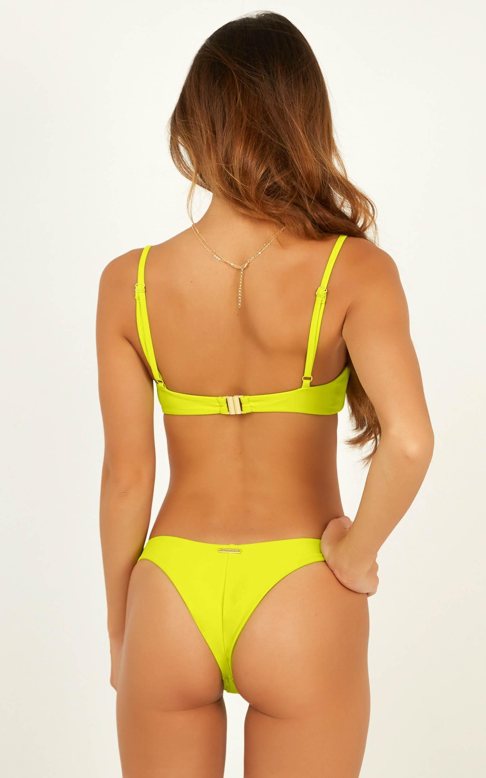 Kaitlin Bikini Top in lime - 20 (XXXXL), Green, hi-res image number null