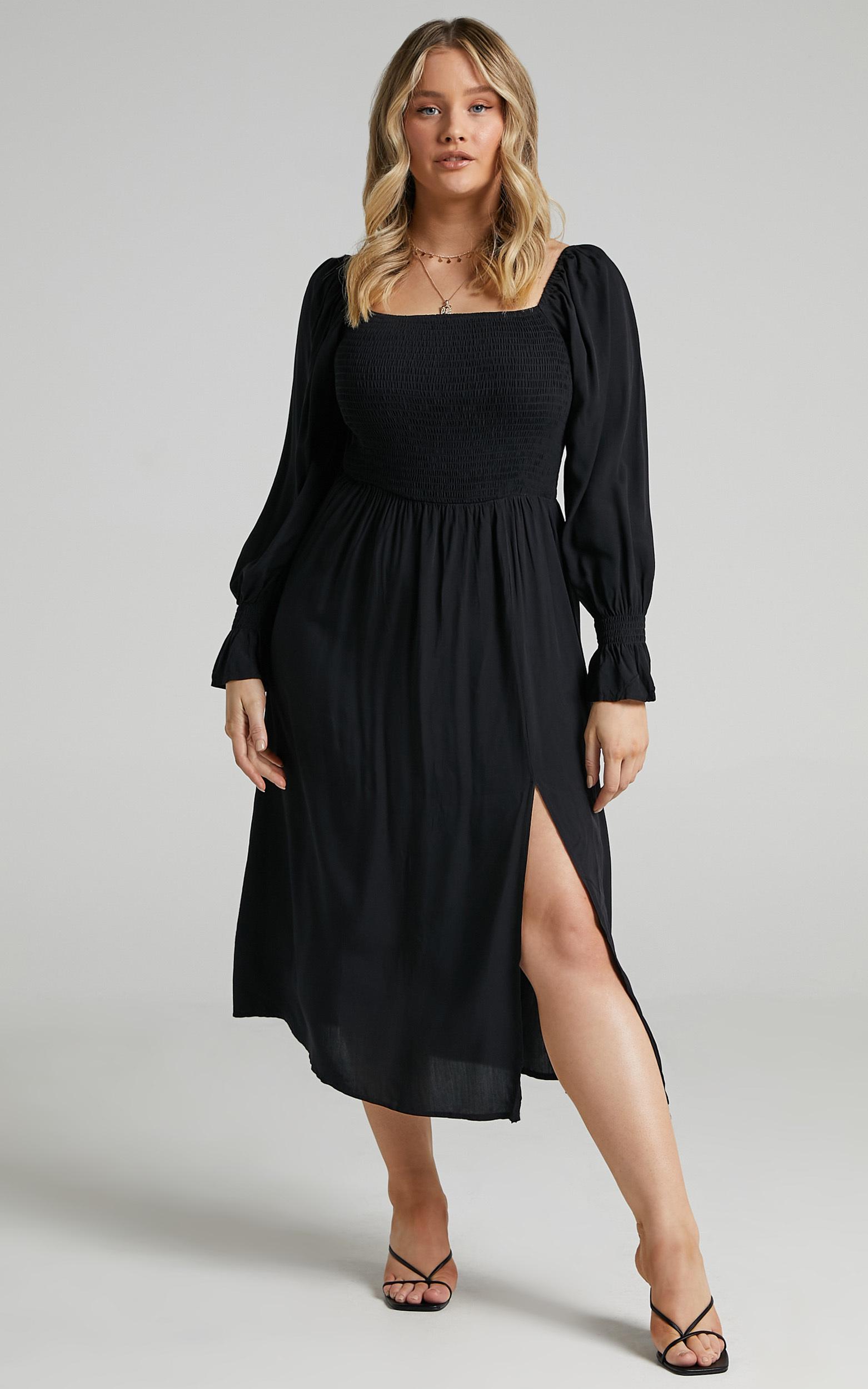 Pallas Dress in Black - 04, BLK1, hi-res image number null