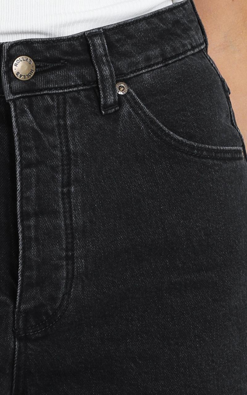 Rollas - Original Denim Short in comfort shadow - 14 (XL), Black, hi-res image number null