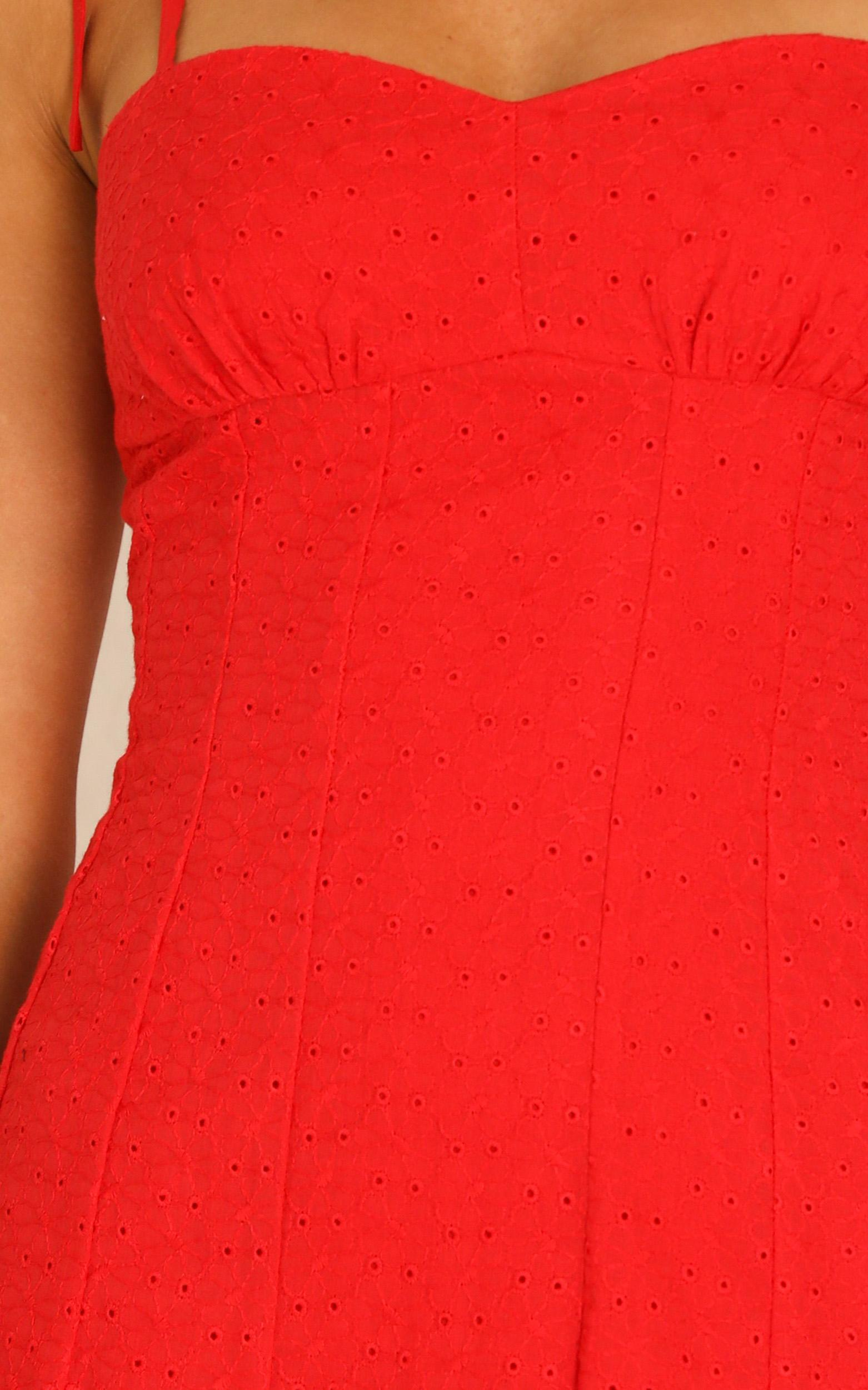 Angels Surround Me dress in red - 12 (L), Red, hi-res image number null