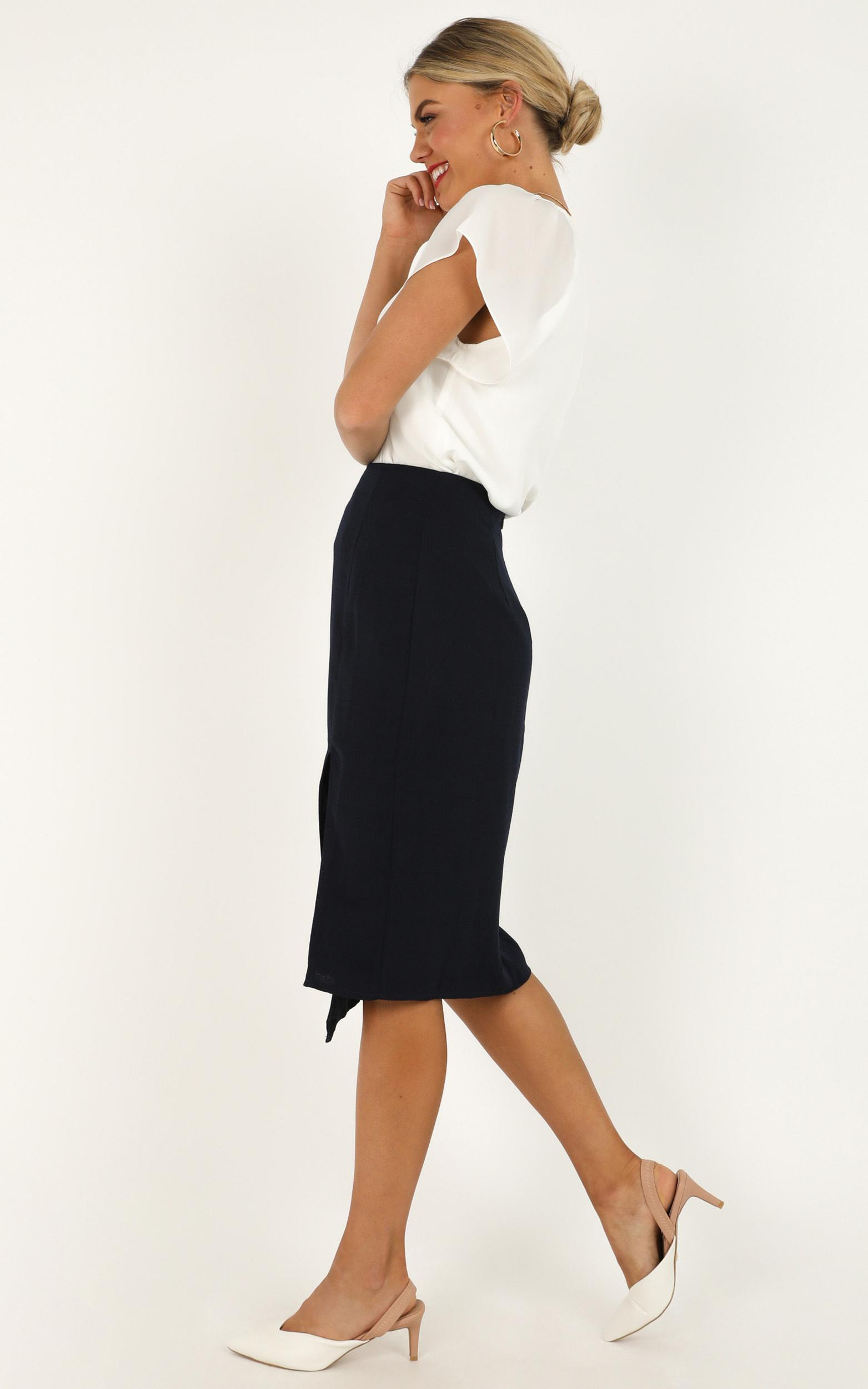 North Facing Skirt in navy - 20 (XXXXL), Navy, hi-res image number null