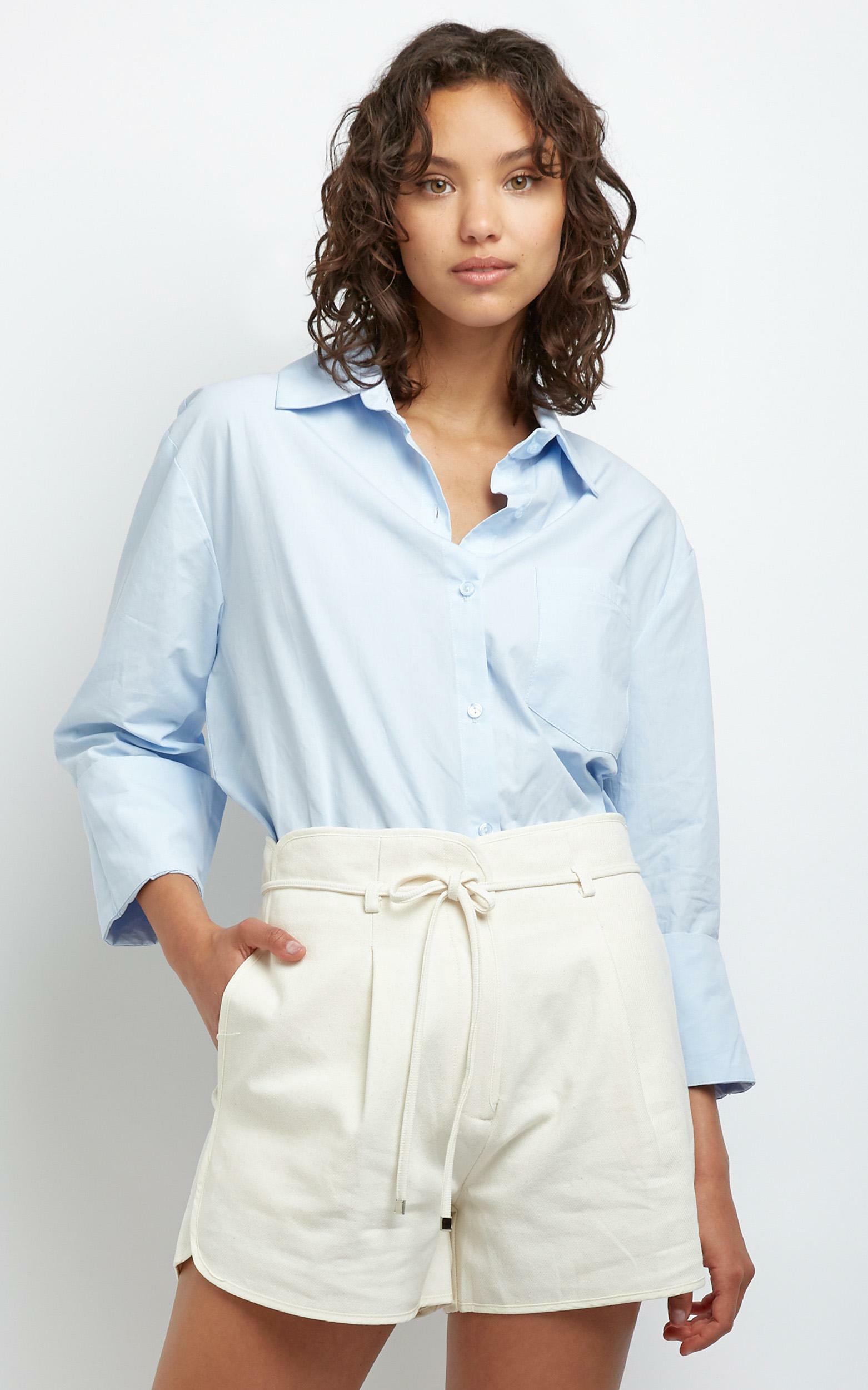 Kinsey Shirt in Blue - M/L, Blue, hi-res image number null