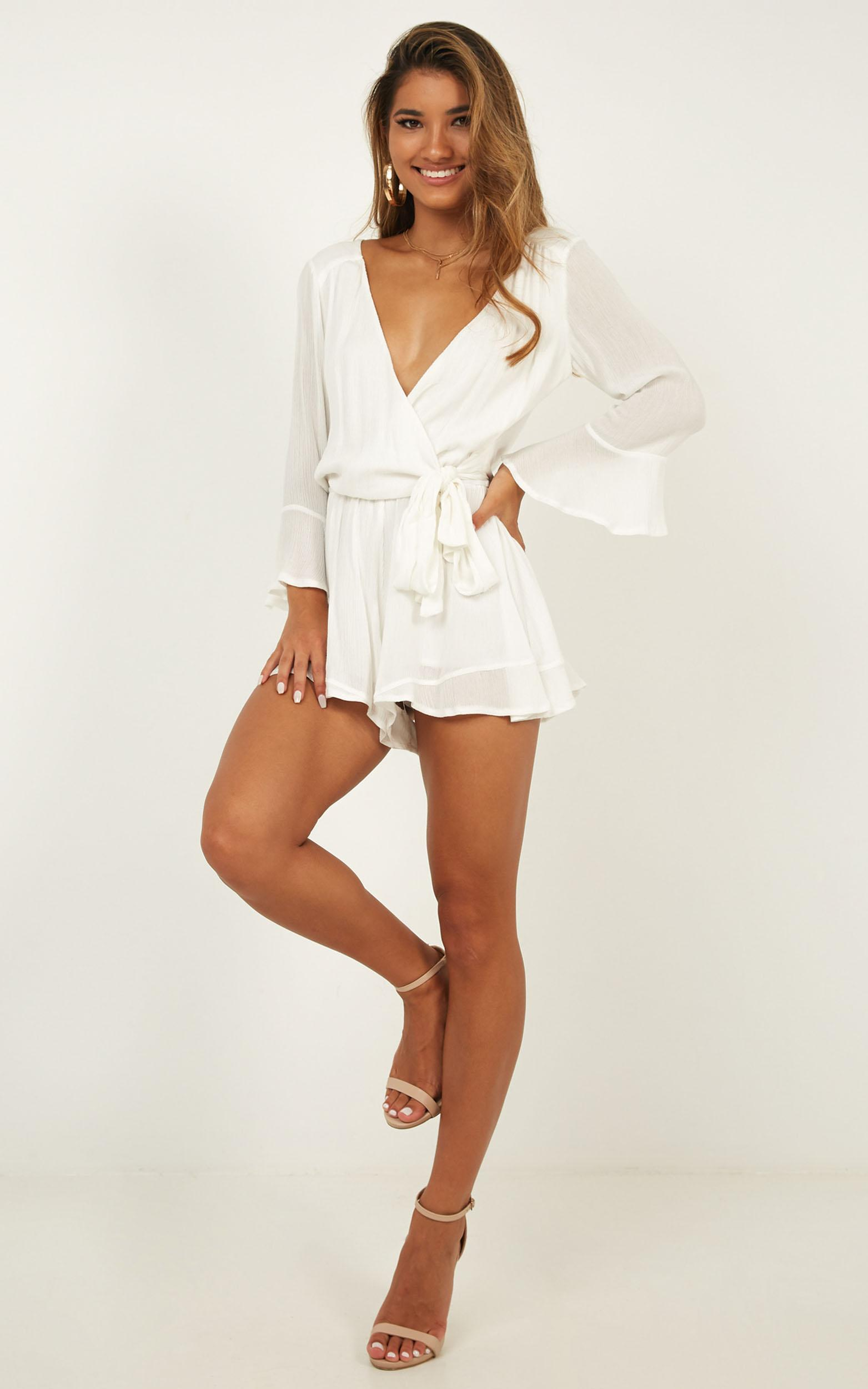 Sunday Breeze playsuit in white - 20 (XXXXL), White, hi-res image number null