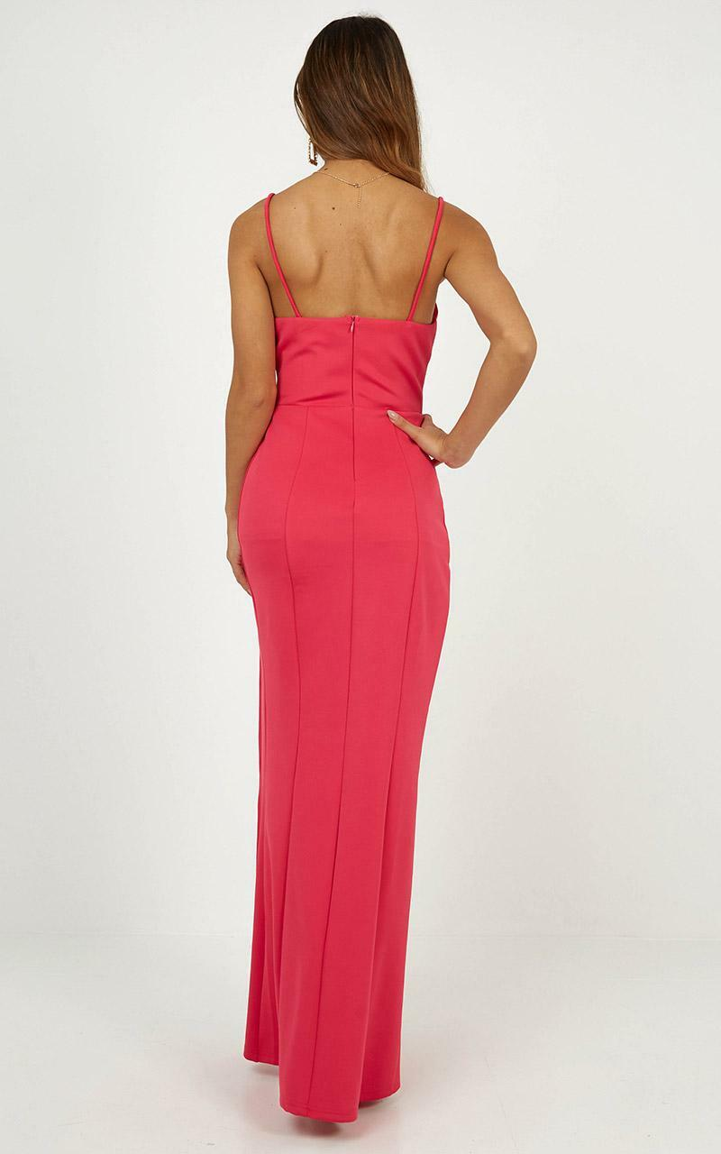 Dare To Dream Maxi Dress in hot pink - 4 (XXS), PNK2, hi-res image number null