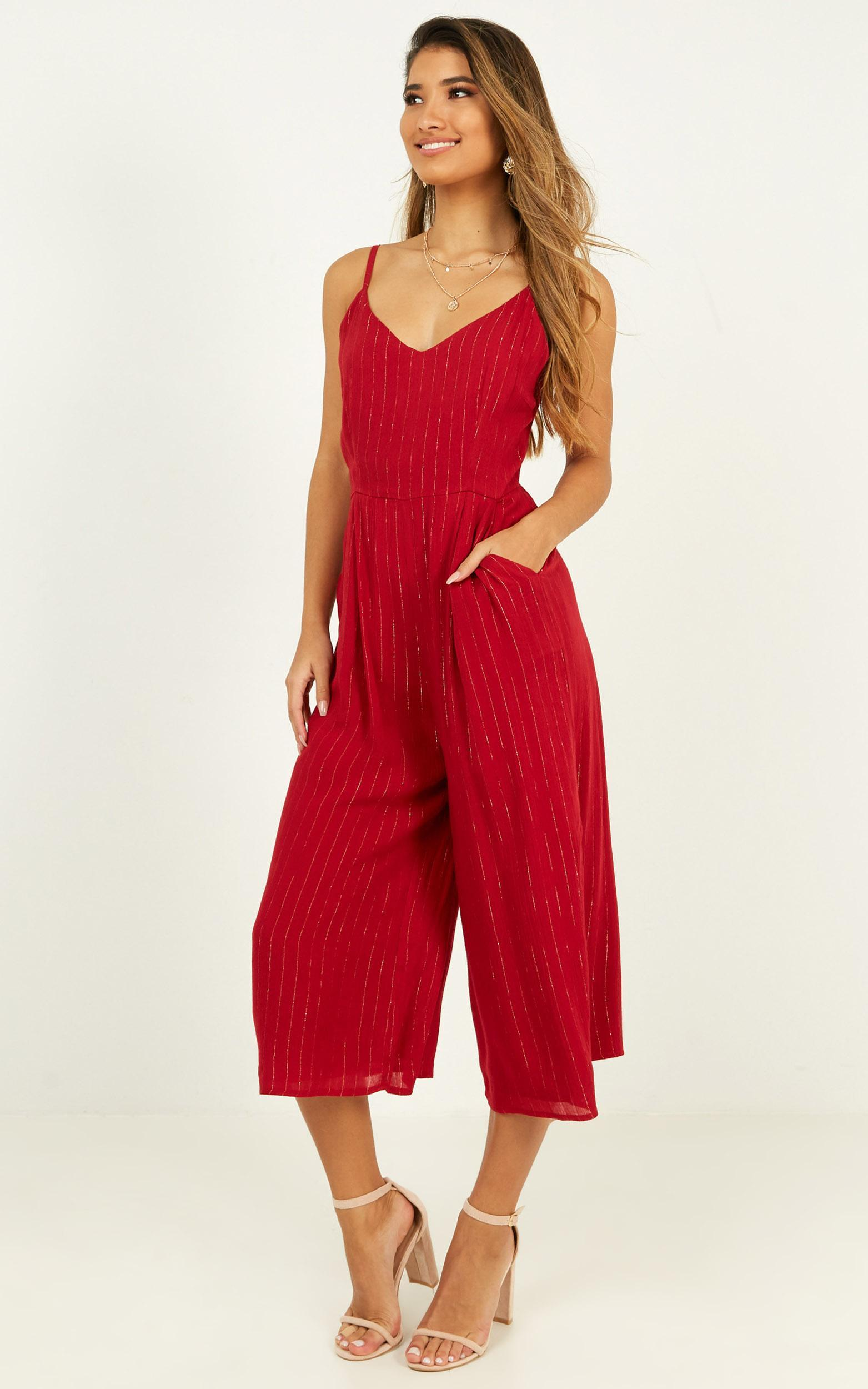 Life Could Be Jumpsuit in wine - 20 (XXXXL), Wine, hi-res image number null