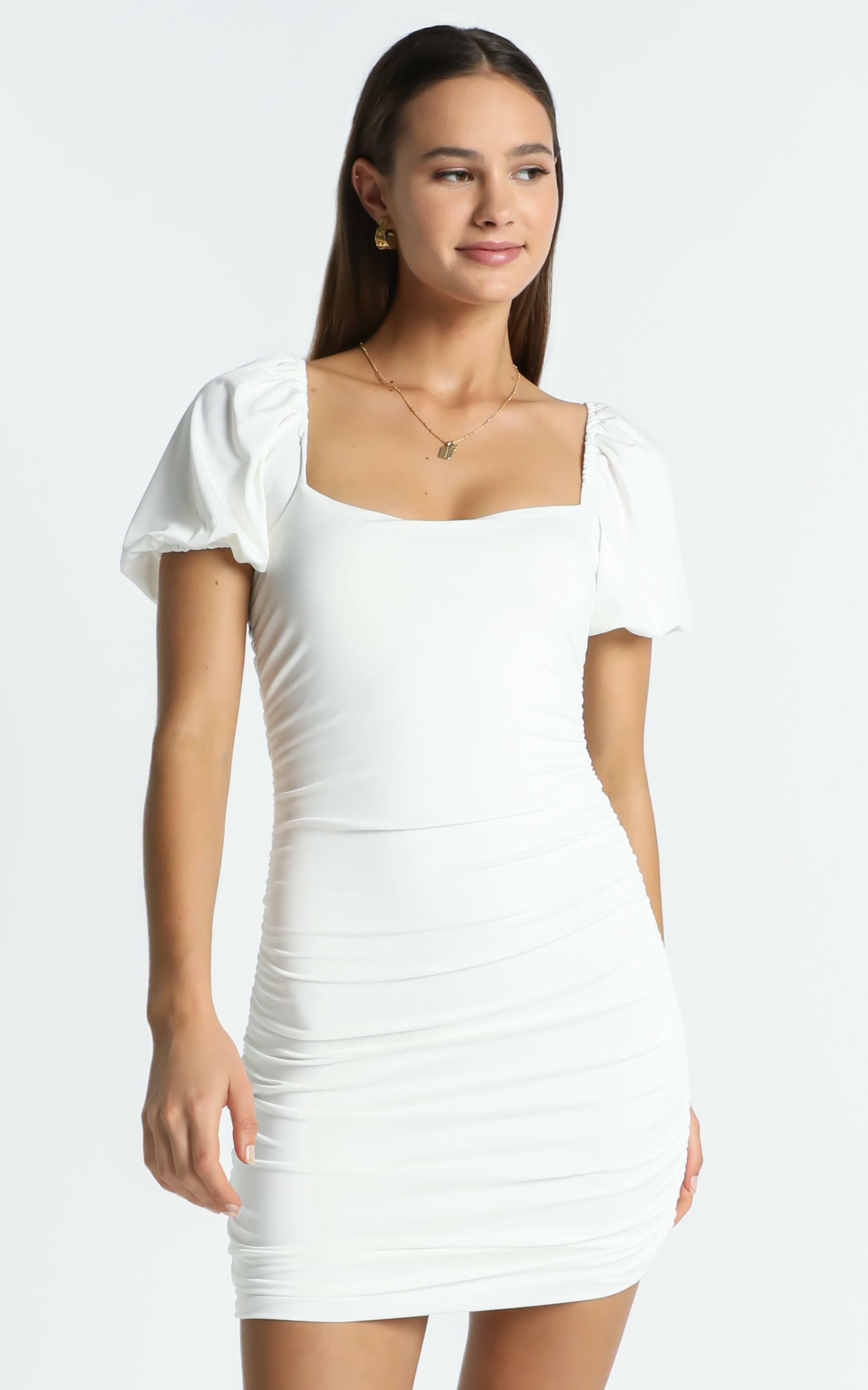 York Dress in White - 6 (XS), White, hi-res image number null