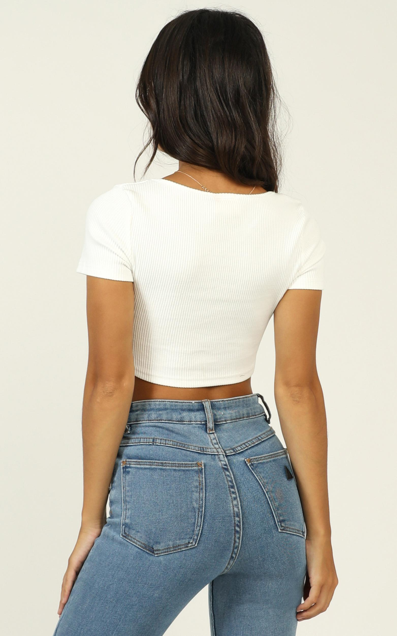 Brooklyn girl top in white - 16 (XXL), White, hi-res image number null