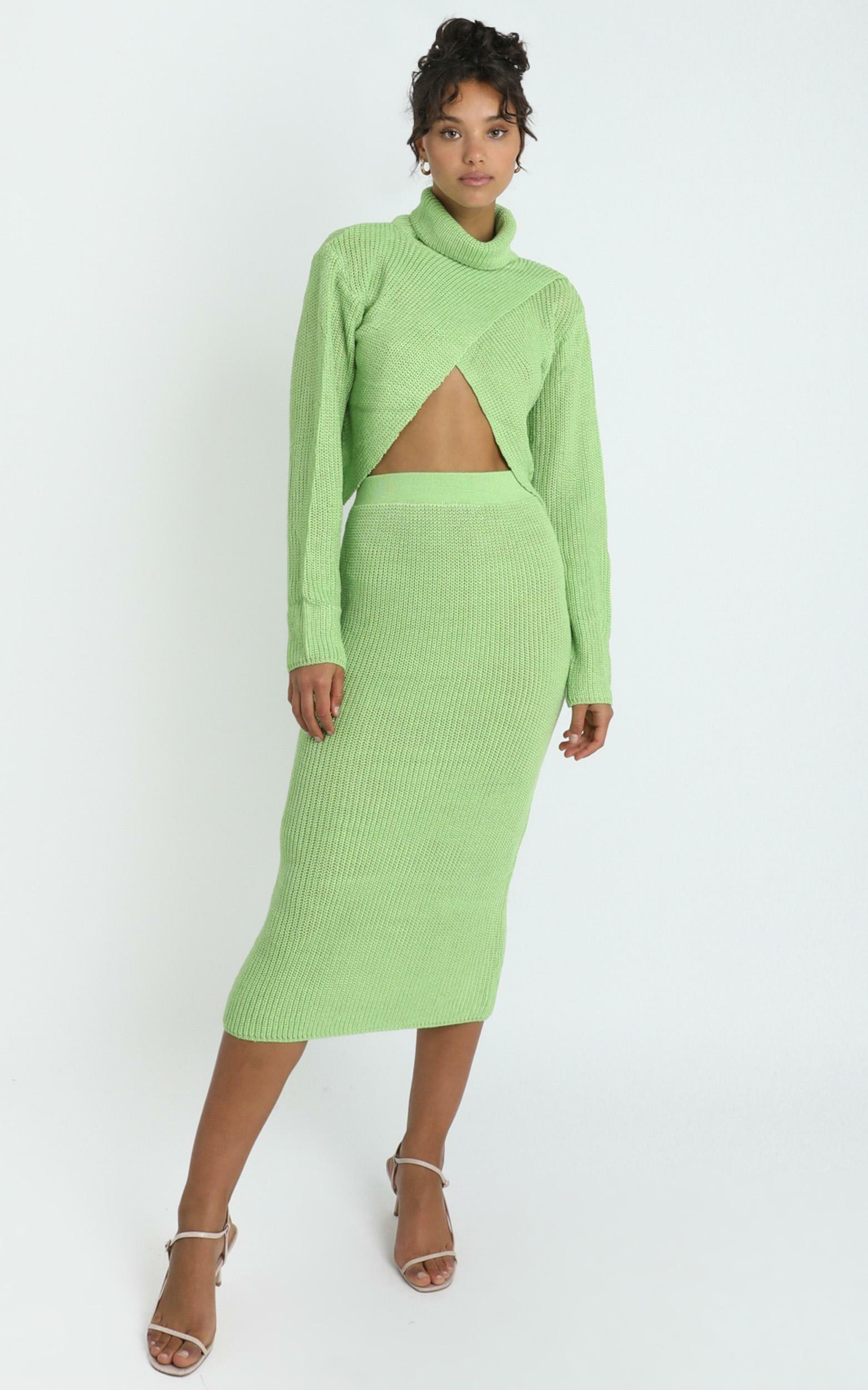 Edwynna Skirt in Green - 8 (S), Green, hi-res image number null