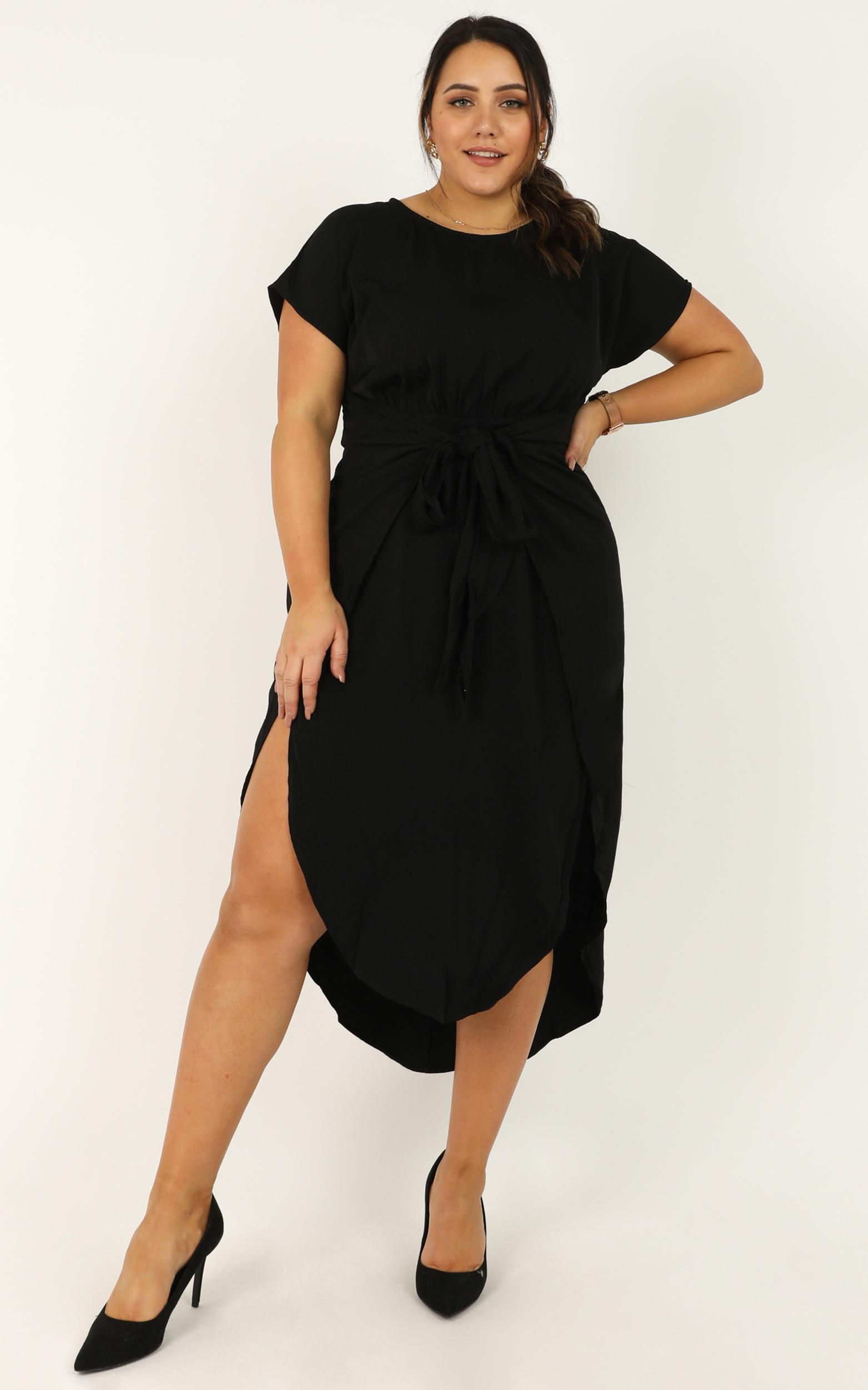 Song of Yours dress in black - 4 (XXS), Black, hi-res image number null