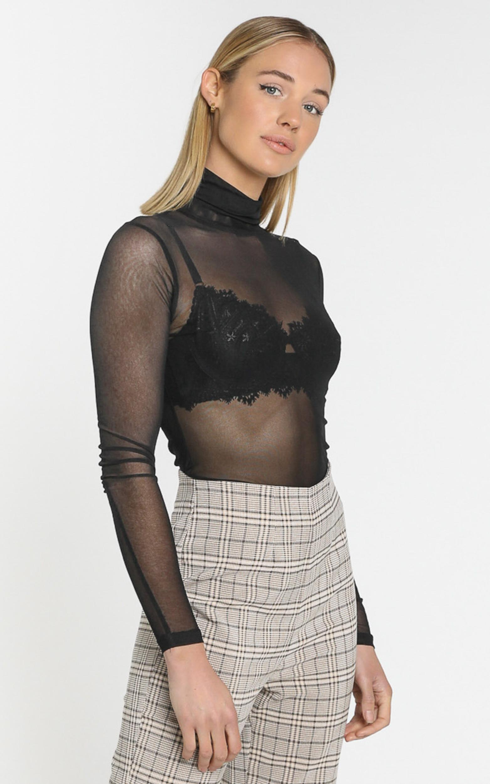 New Generation top in black - 4 (XXS), Black, hi-res image number null
