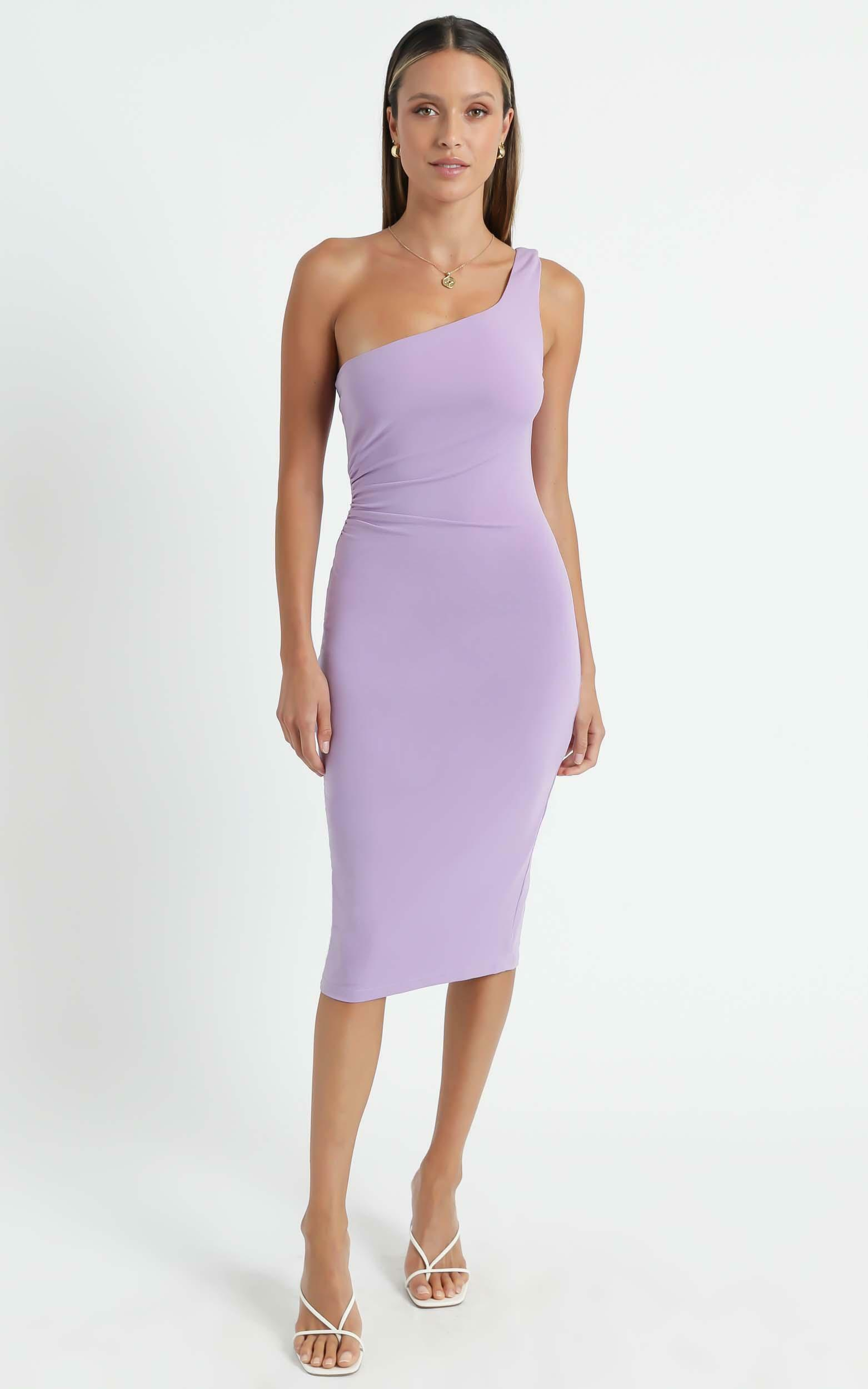 Got Me Looking Dress In Lilac - 6 (XS), Purple, hi-res image number null