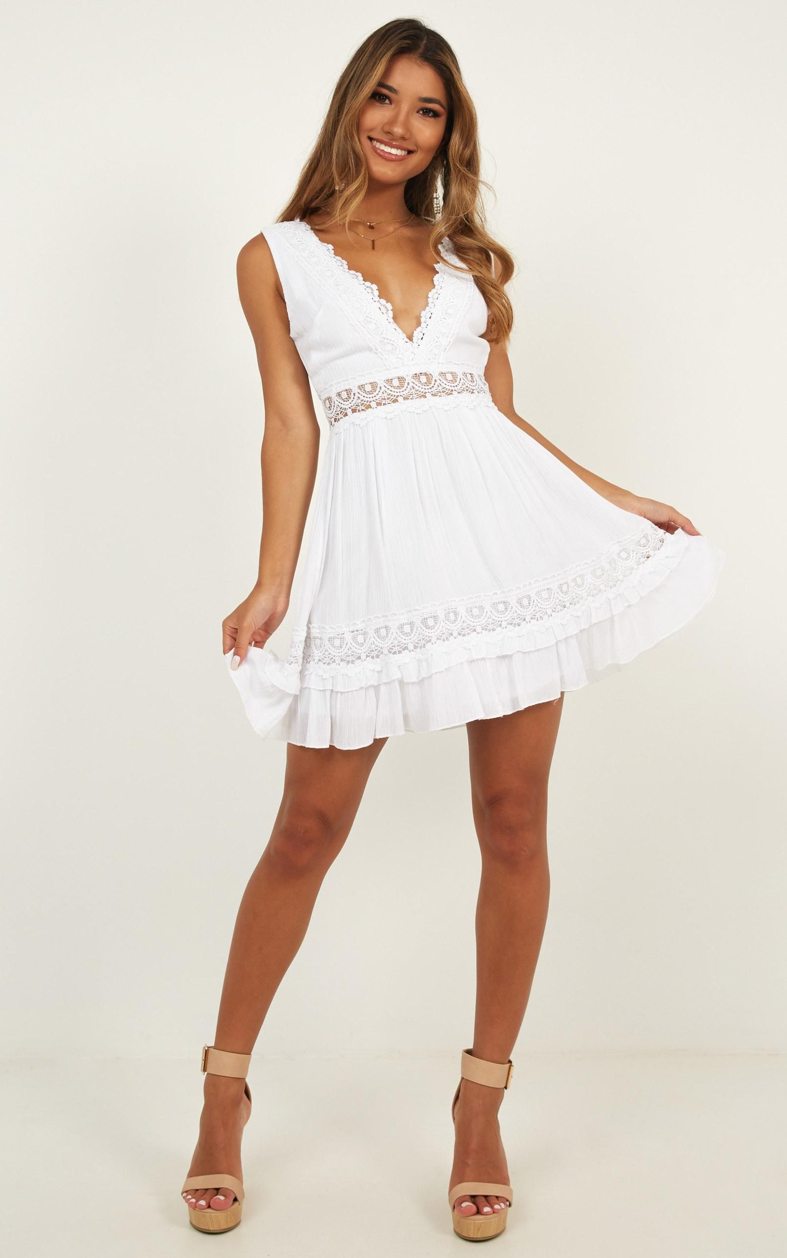 Simple As That dress in white - 20 (XXXXL), White, hi-res image number null