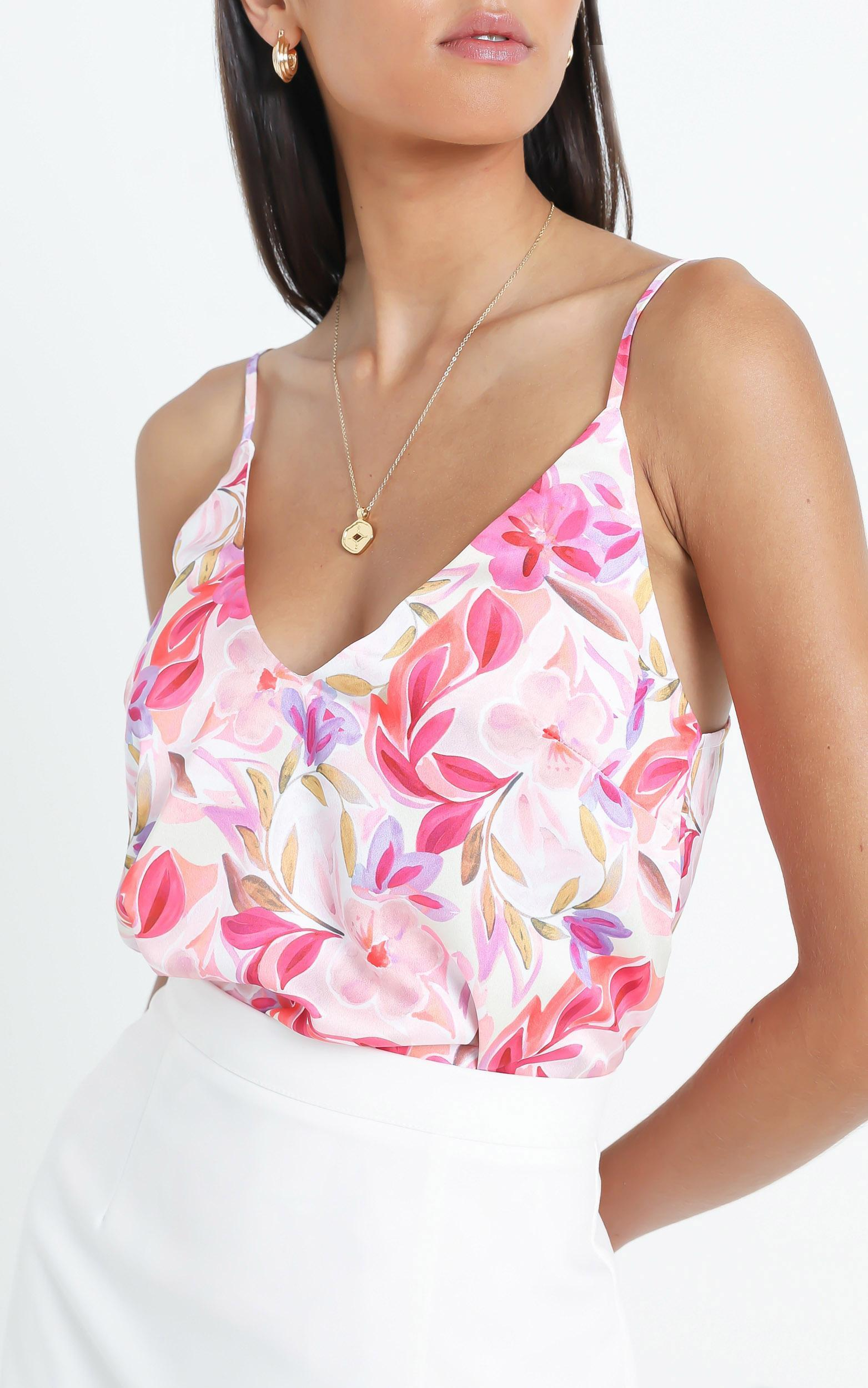 My Only Sunshine Top In Eventful Bloom - 6 (XS), Multi, hi-res image number null