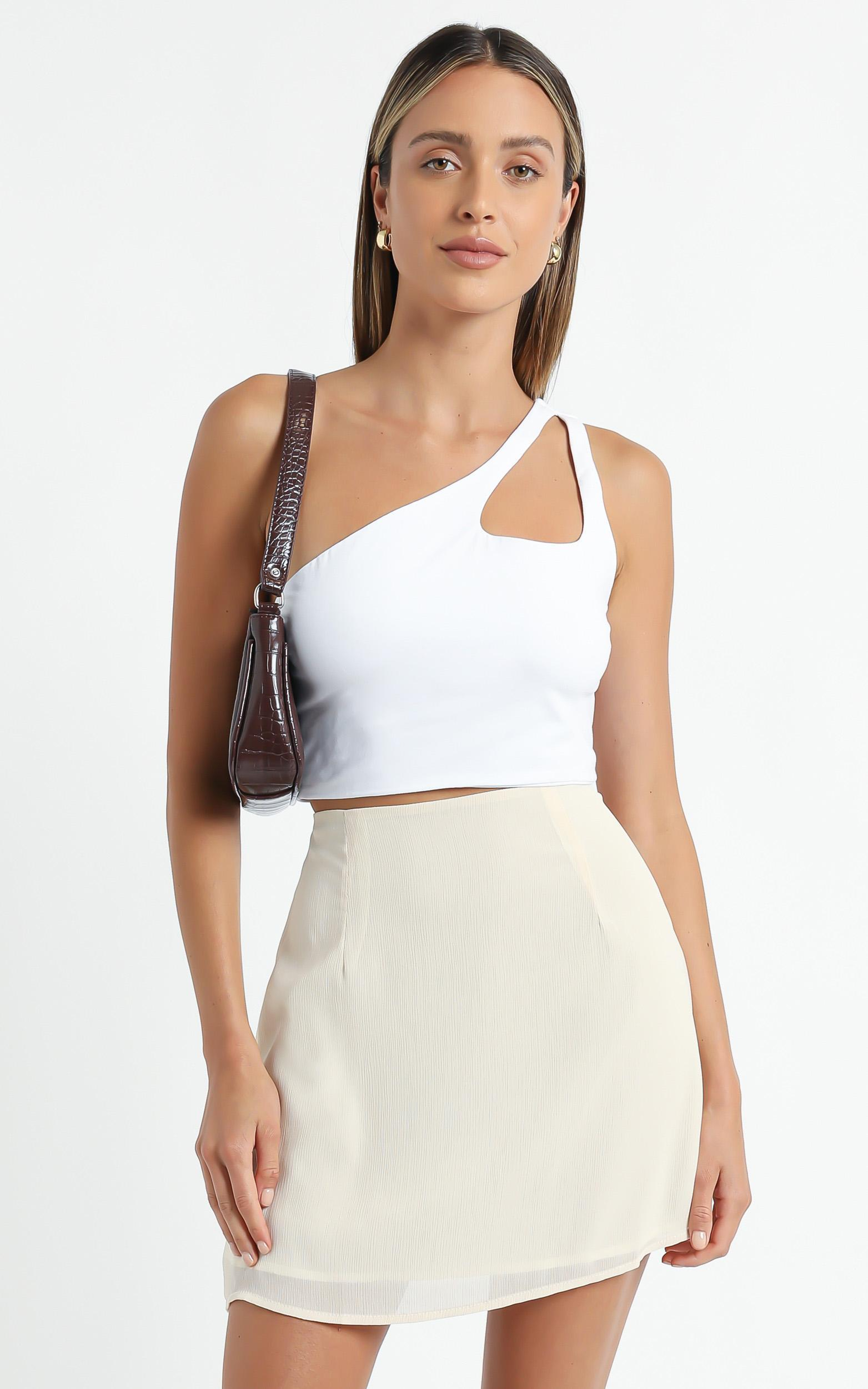 Lilijana Top in White - 6 (XS), White, hi-res image number null