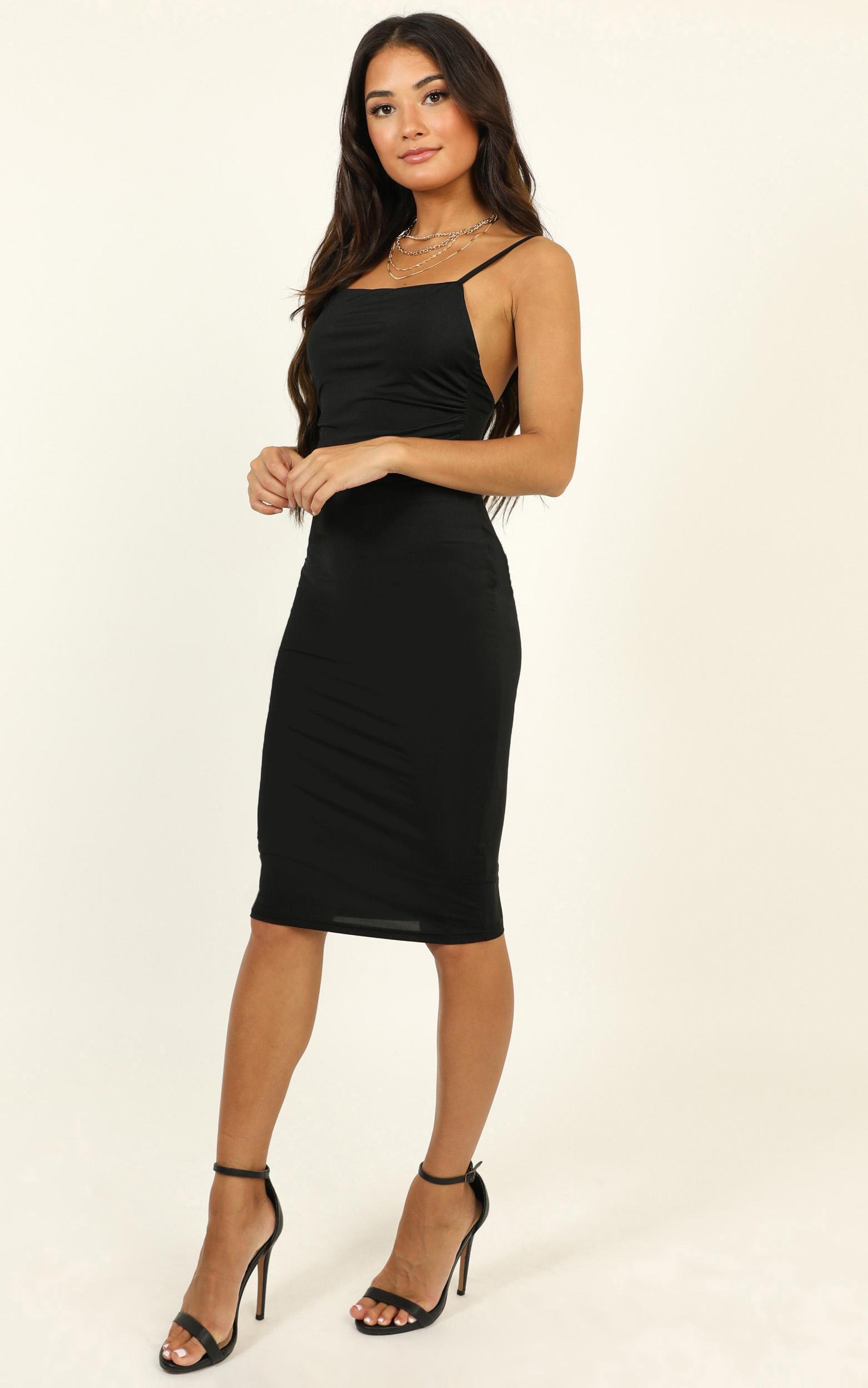 I Feel The Love Dress in black - 14 (XL), Black, hi-res image number null