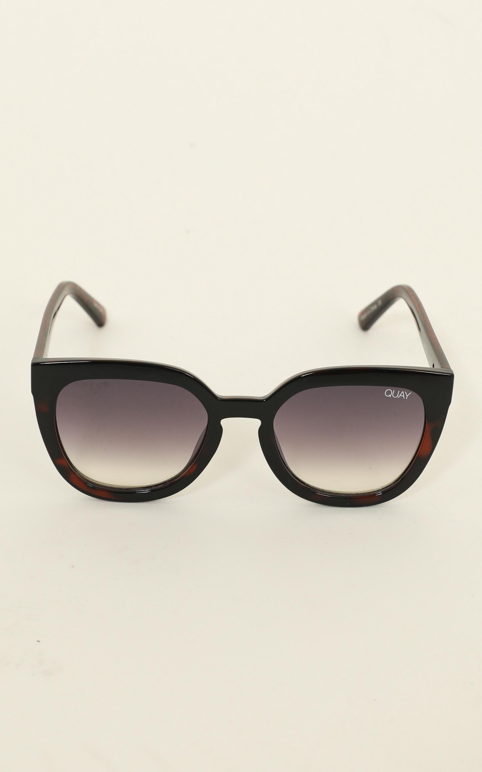 Quay - Noosa Sunglasses In Black And Tort, , hi-res image number null