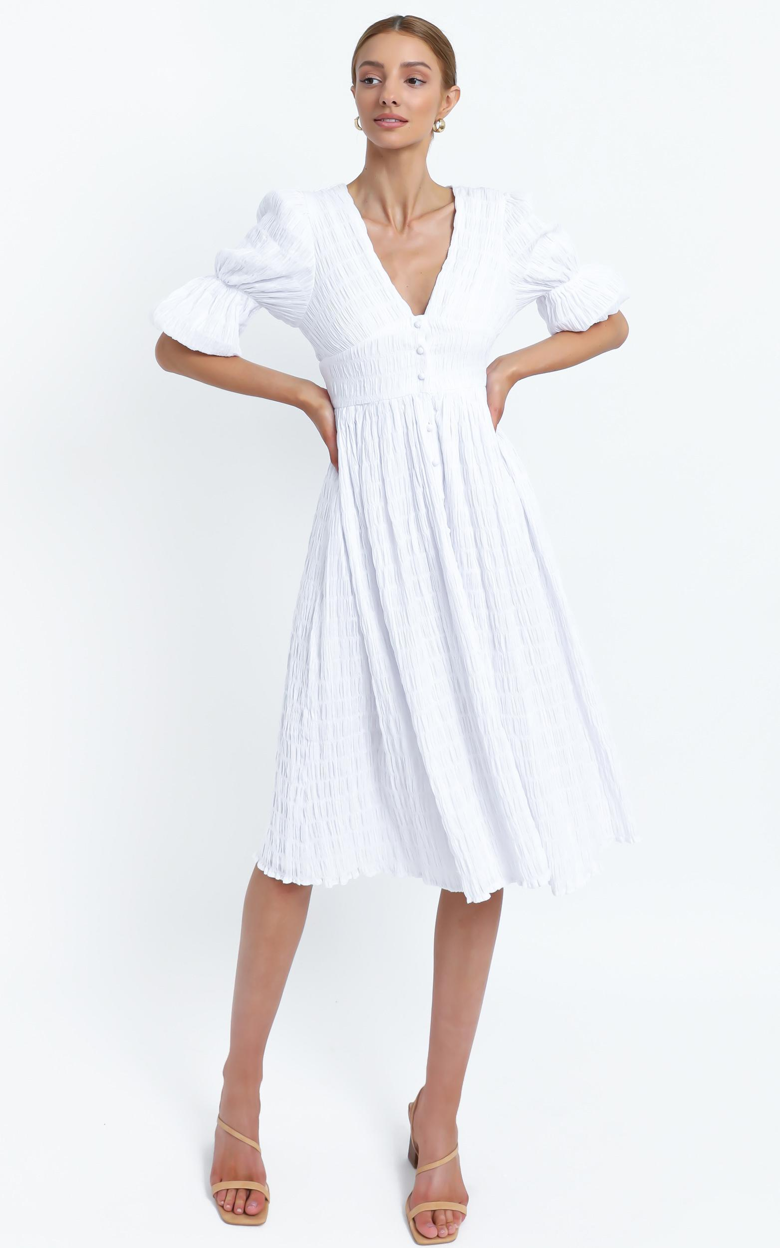 Seychelles Dress in White - 16 (XXL), White, hi-res image number null