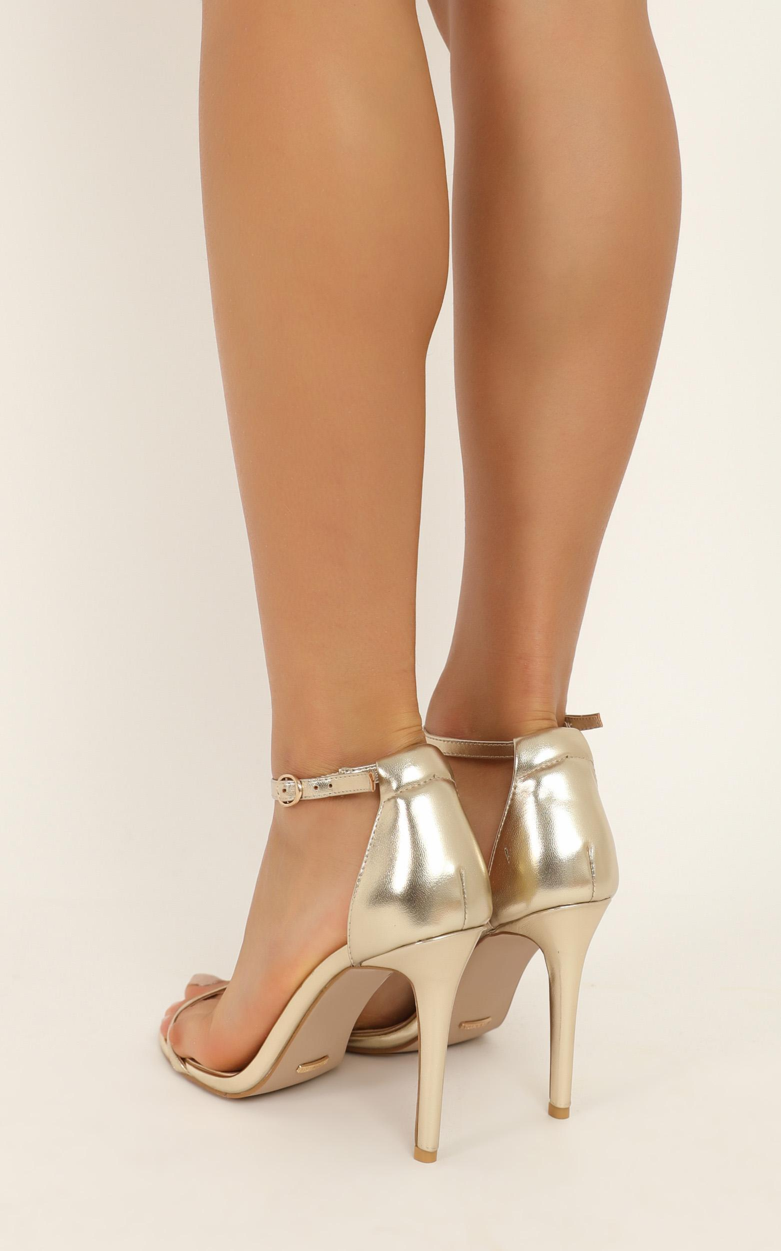Billini - Timeless Heels in light gold metallic - 10, Gold, hi-res image number null