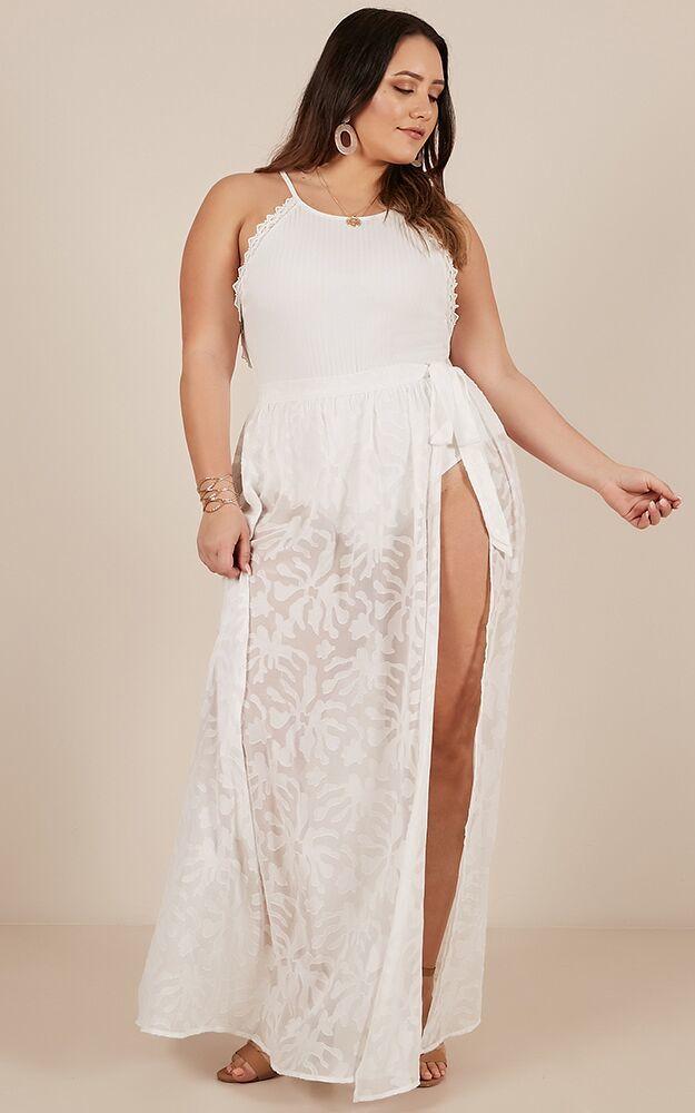 Wondering Vibes Skirt in white - 20 (XXXXL), White, hi-res image number null