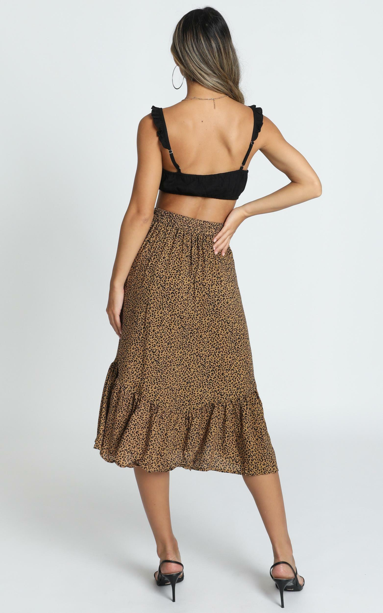 Wild Life Skirt in leopard - 14 (XL), Brown, hi-res image number null