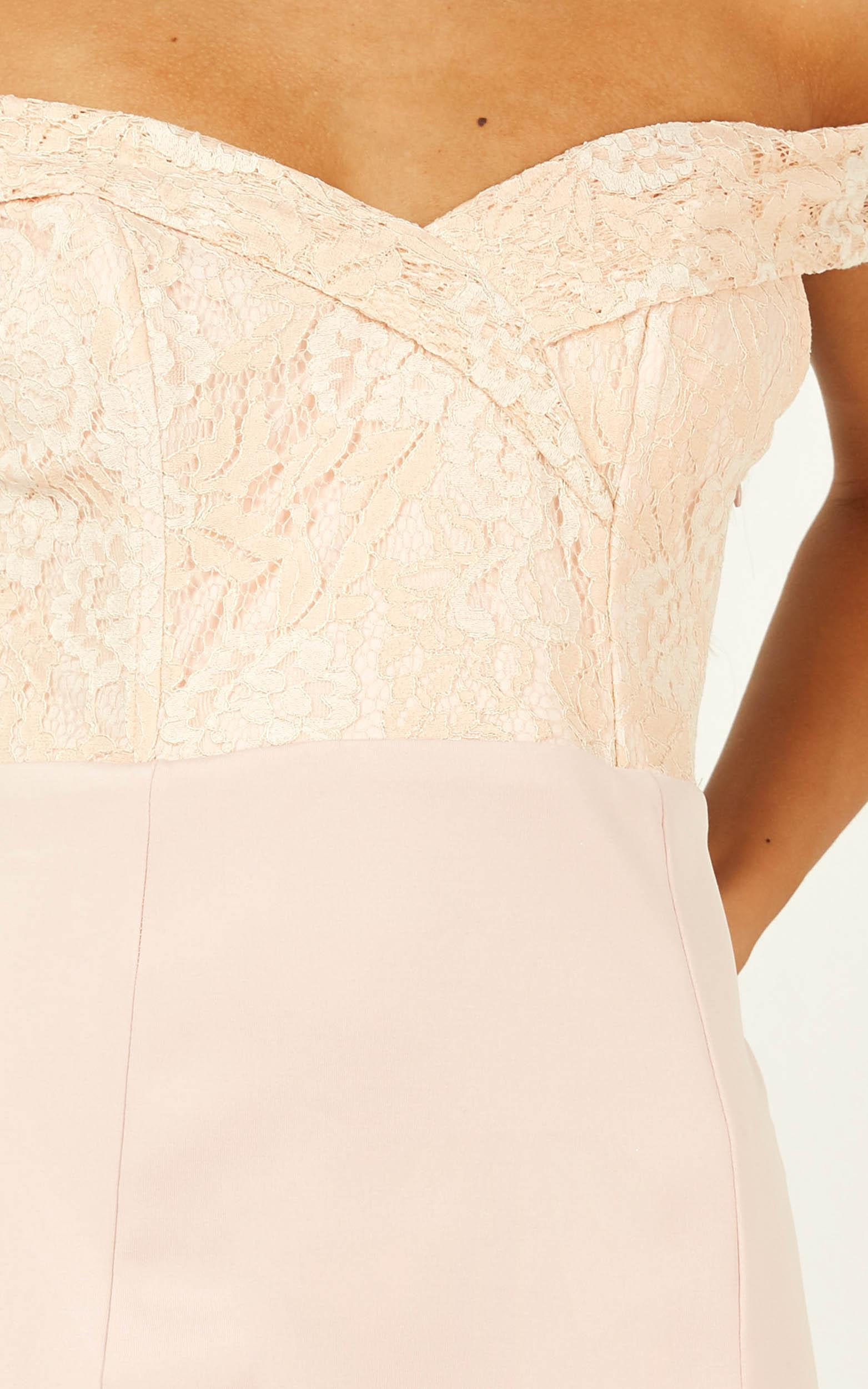 Rise To The Top Dress in blush - 20 (XXXXL), Blush, hi-res image number null
