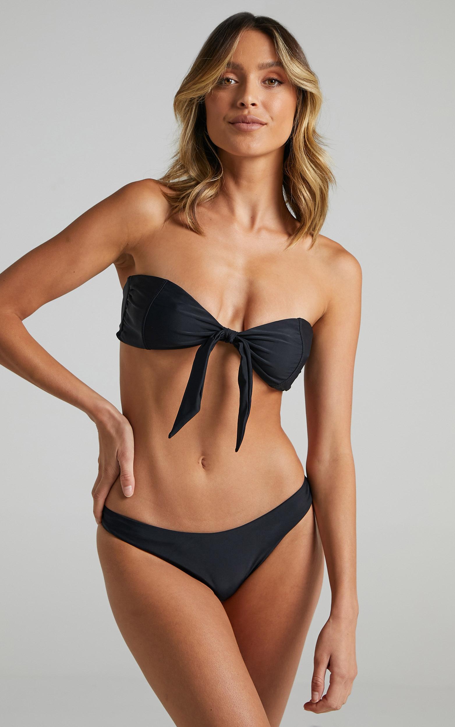 Neith Bikini Top in Black - 6 (XS), Black, hi-res image number null