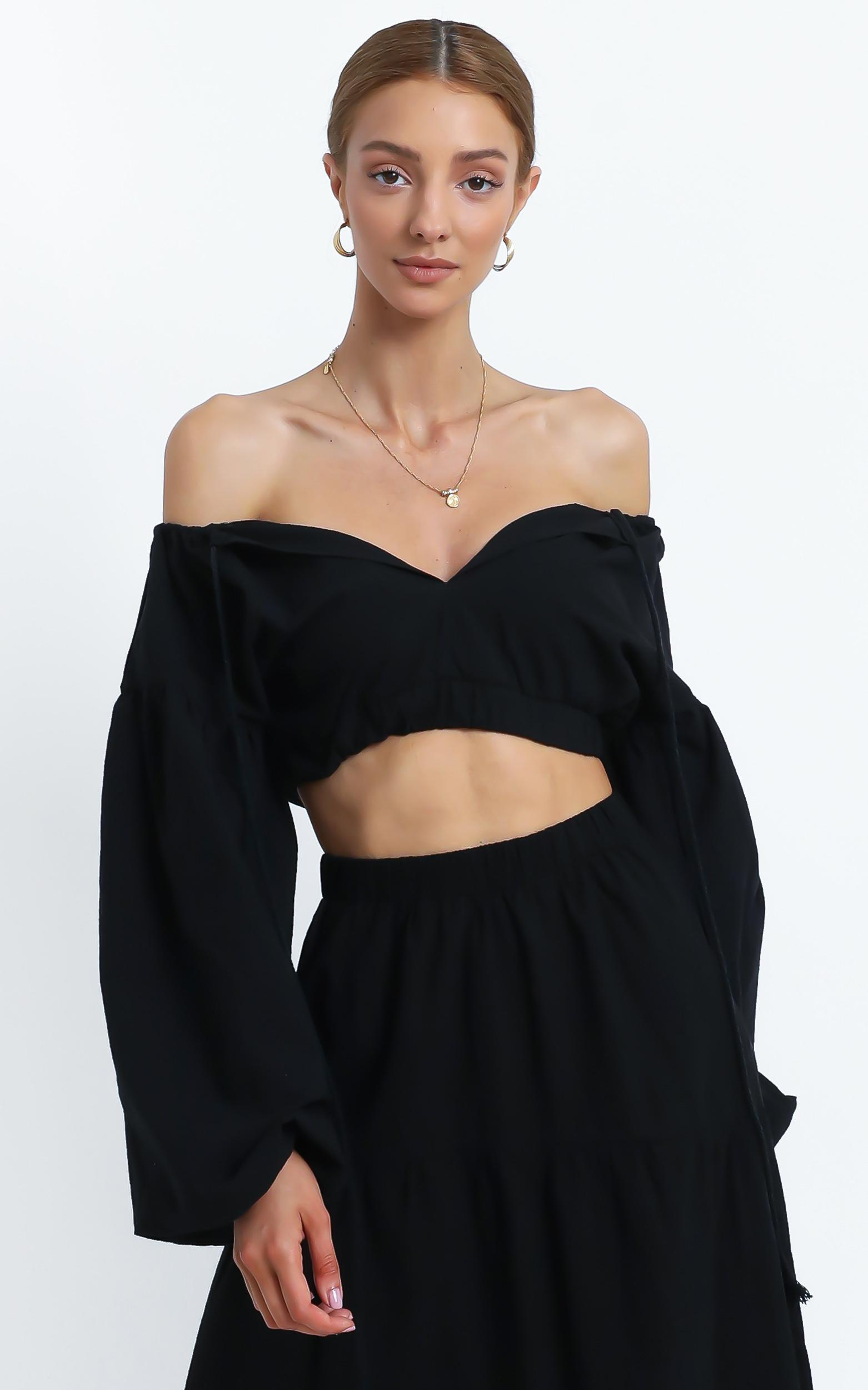 Sully Top in Black - 16 (XXL), Black, hi-res image number null