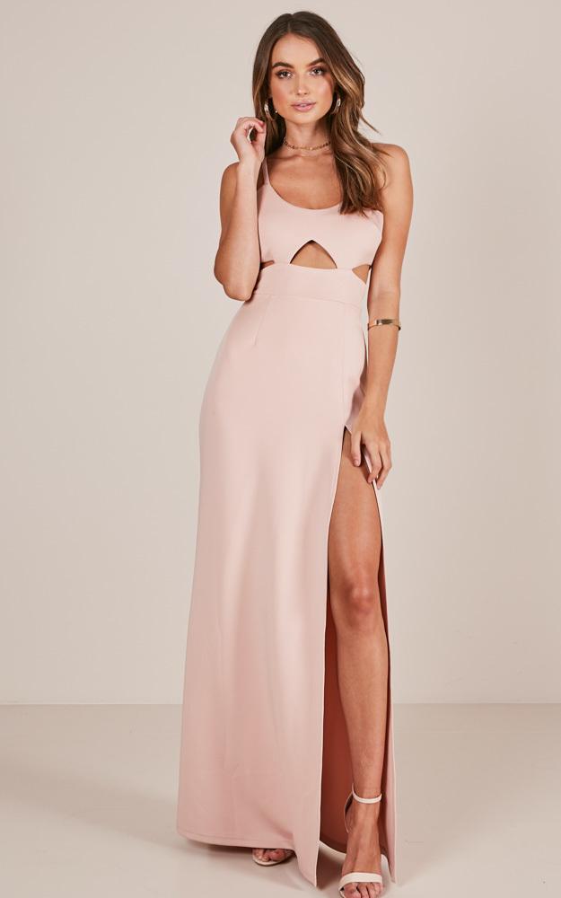 Girl Crush maxi dress in blush - 4 (XXS), Blush, hi-res image number null