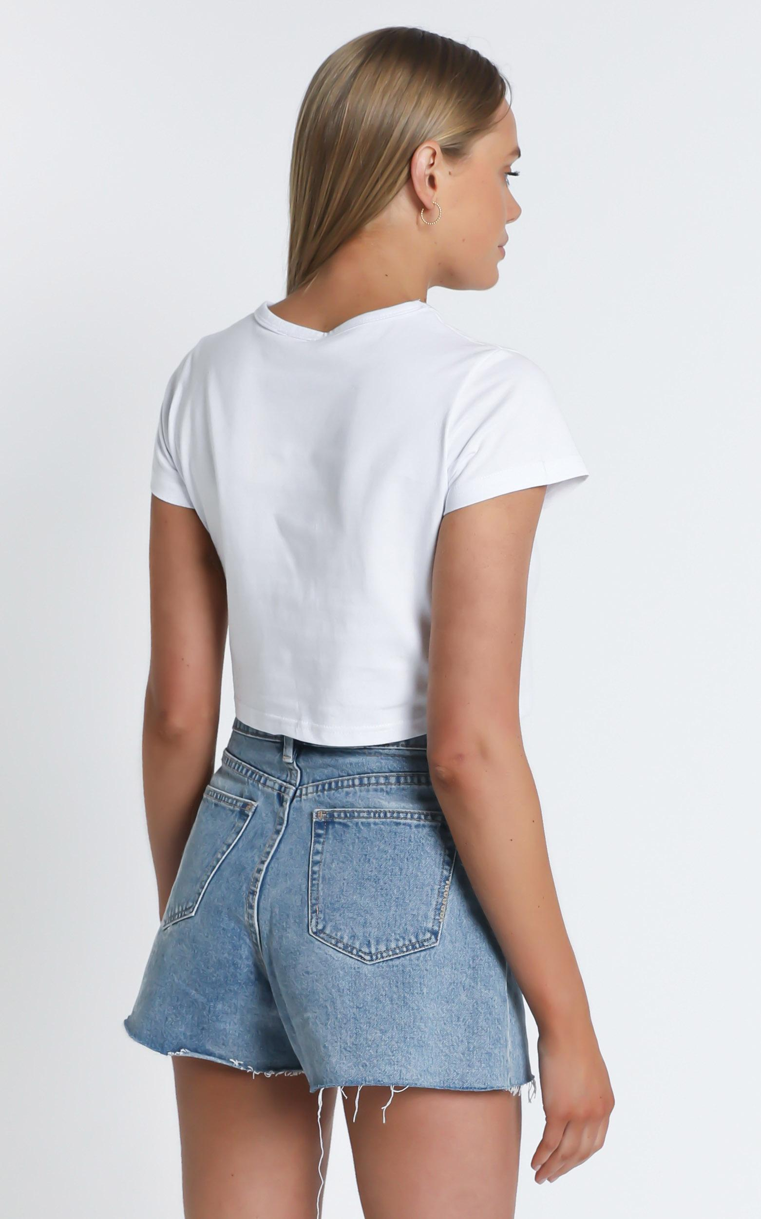 Getting What I Want Top In white - 20 (XXXXL), White, hi-res image number null