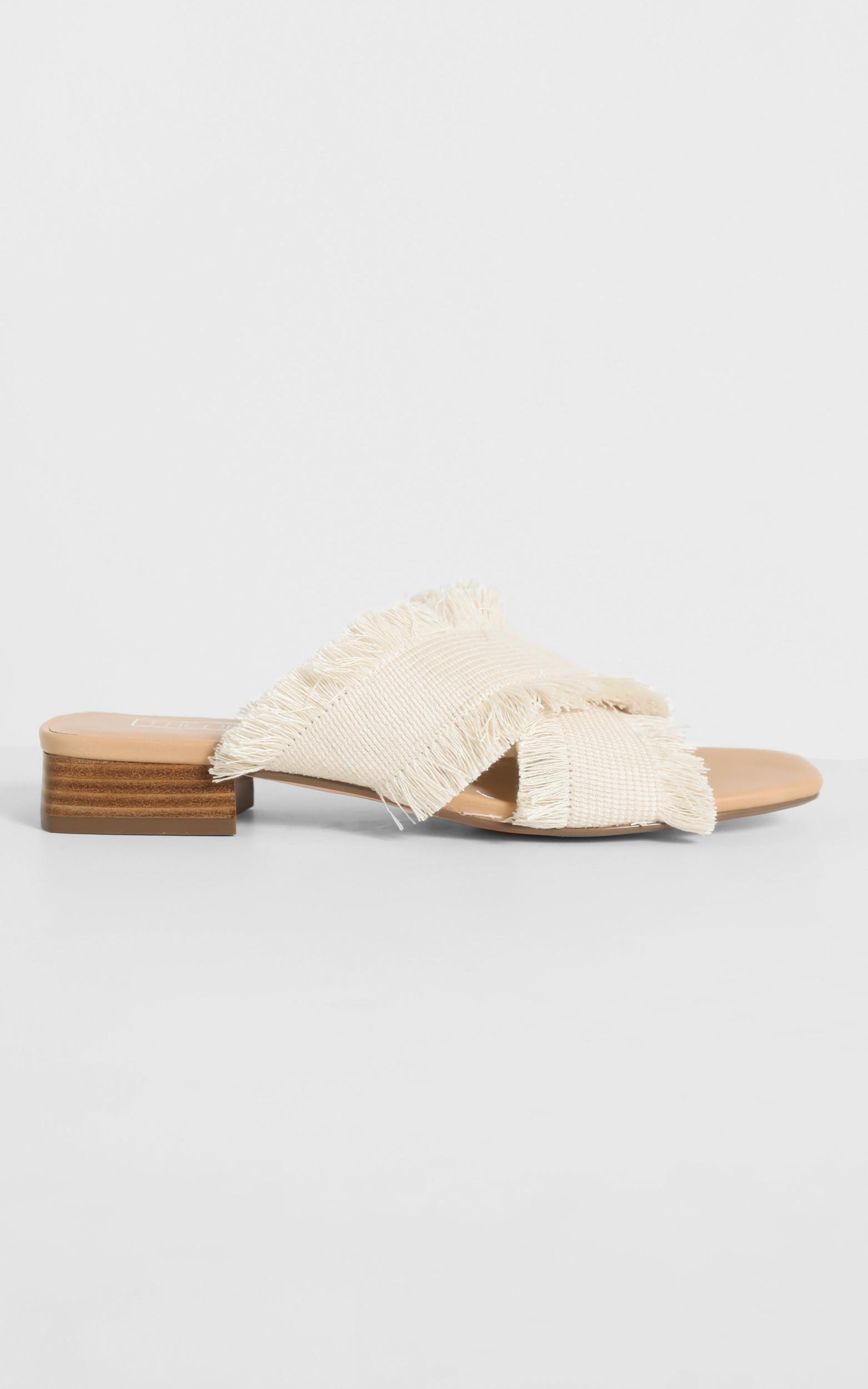 Therapy - Lulu Heels in Natural Fabric - 5, NEU5, hi-res image number null