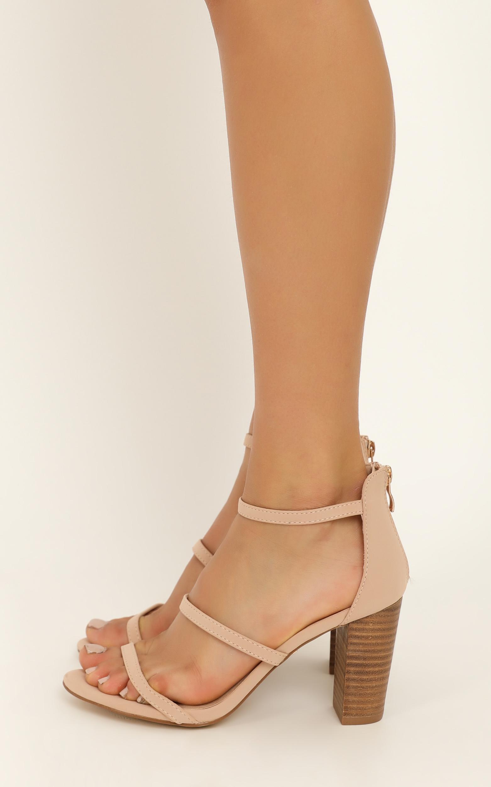 Billini - Dallas heels in nude nubuck - 5, Neutral, hi-res image number null