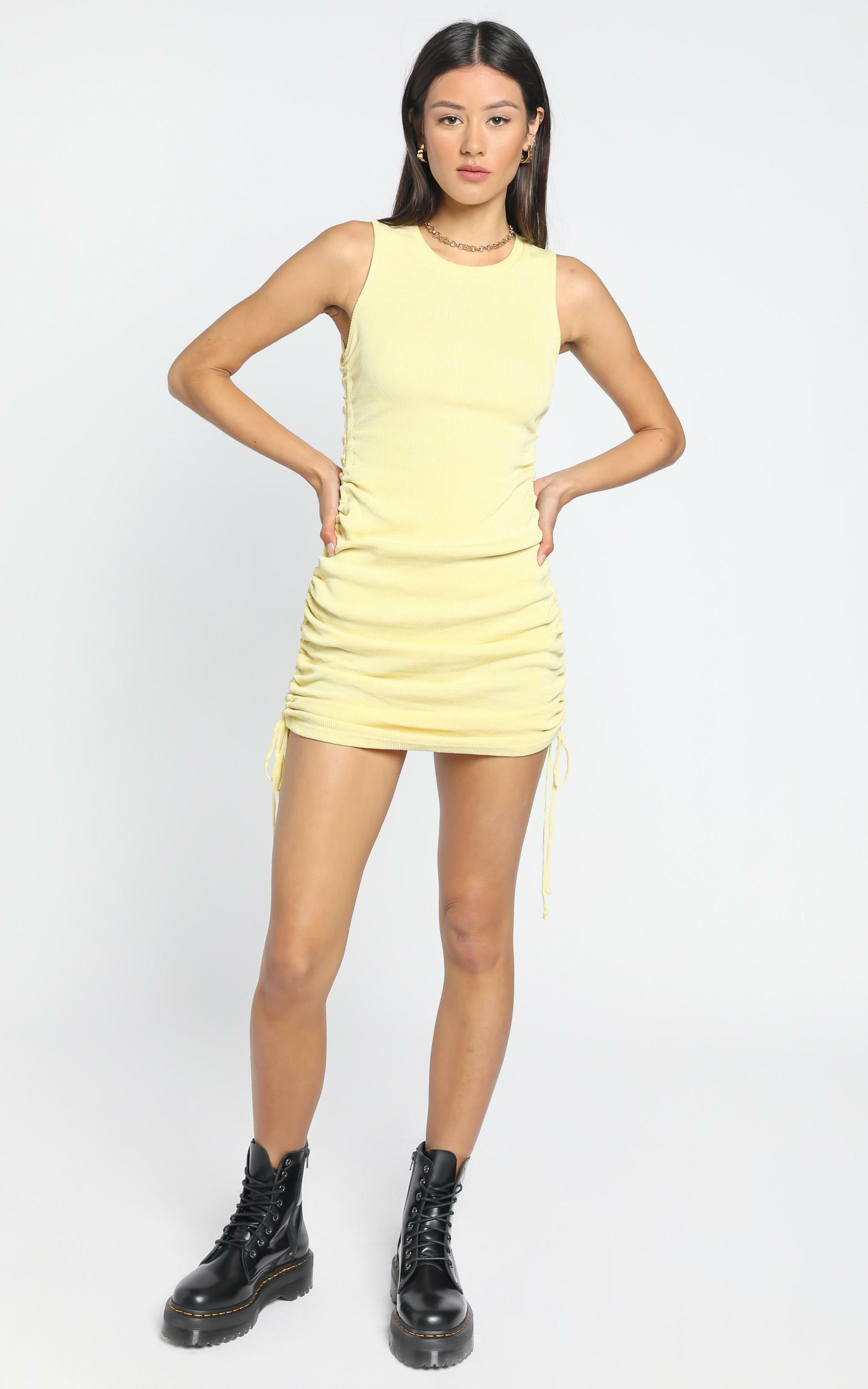 Lioness - Military Minds dress Mellow Yellow - 12 (L), Yellow, hi-res image number null