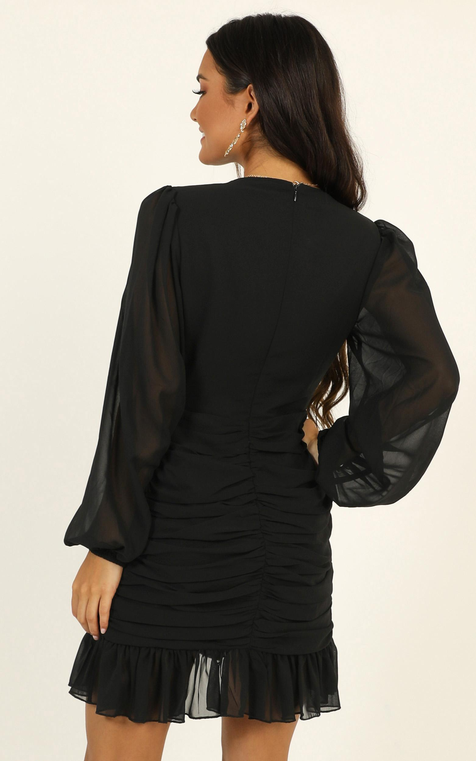 Can I Be Your Honey Dress in black - 14 (XL), Black, hi-res image number null