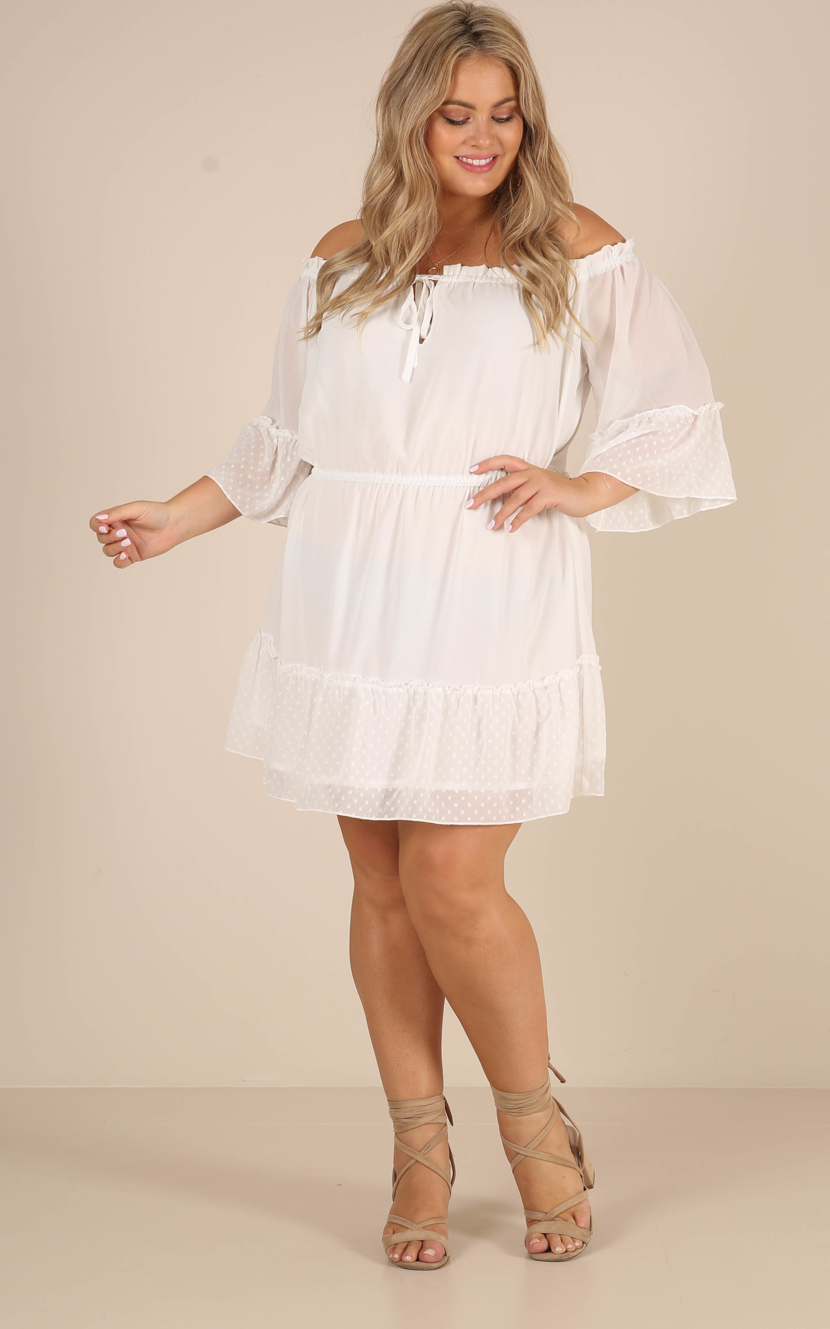 Dream Queen dress in white - 12 (L), White, hi-res image number null