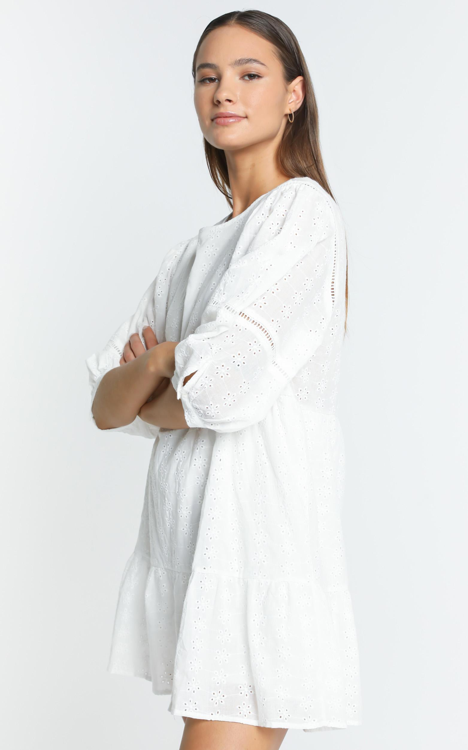 Lore Dress in White - 6 (XS), White, hi-res image number null
