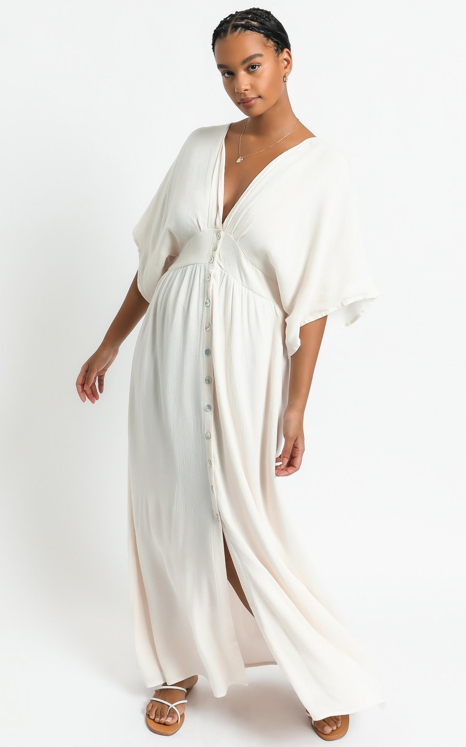 Sitting pretty dress in natural - 20 (XXXXL), Beige, hi-res image number null