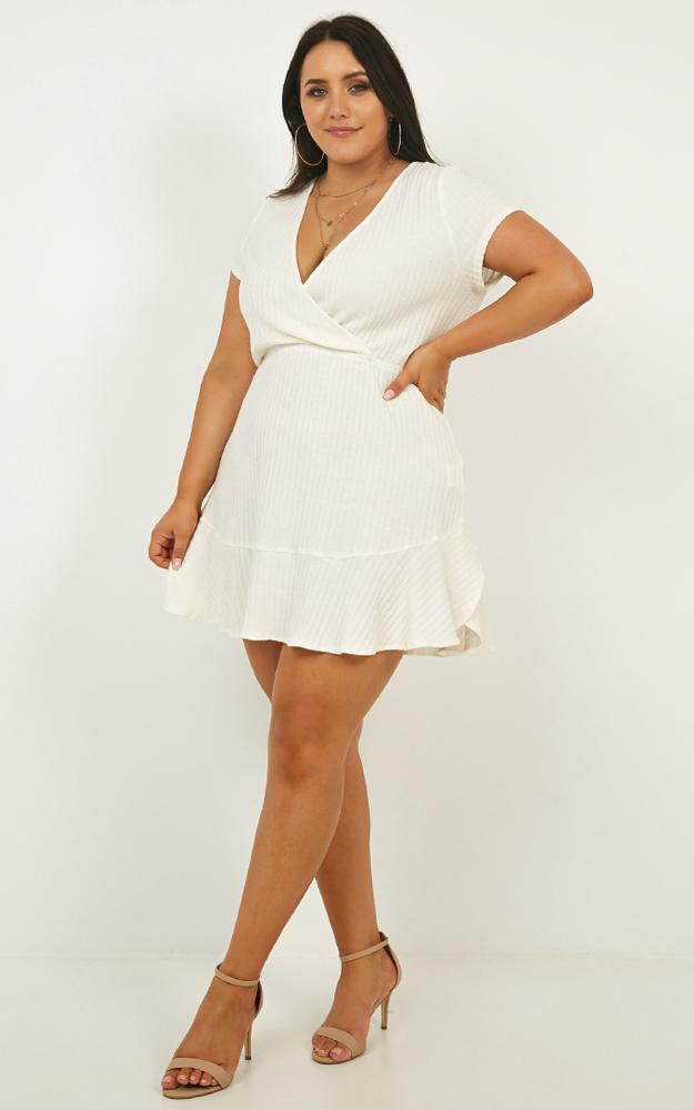 Sweet Feeling Dress In White - 4 (XXS), White, hi-res image number null