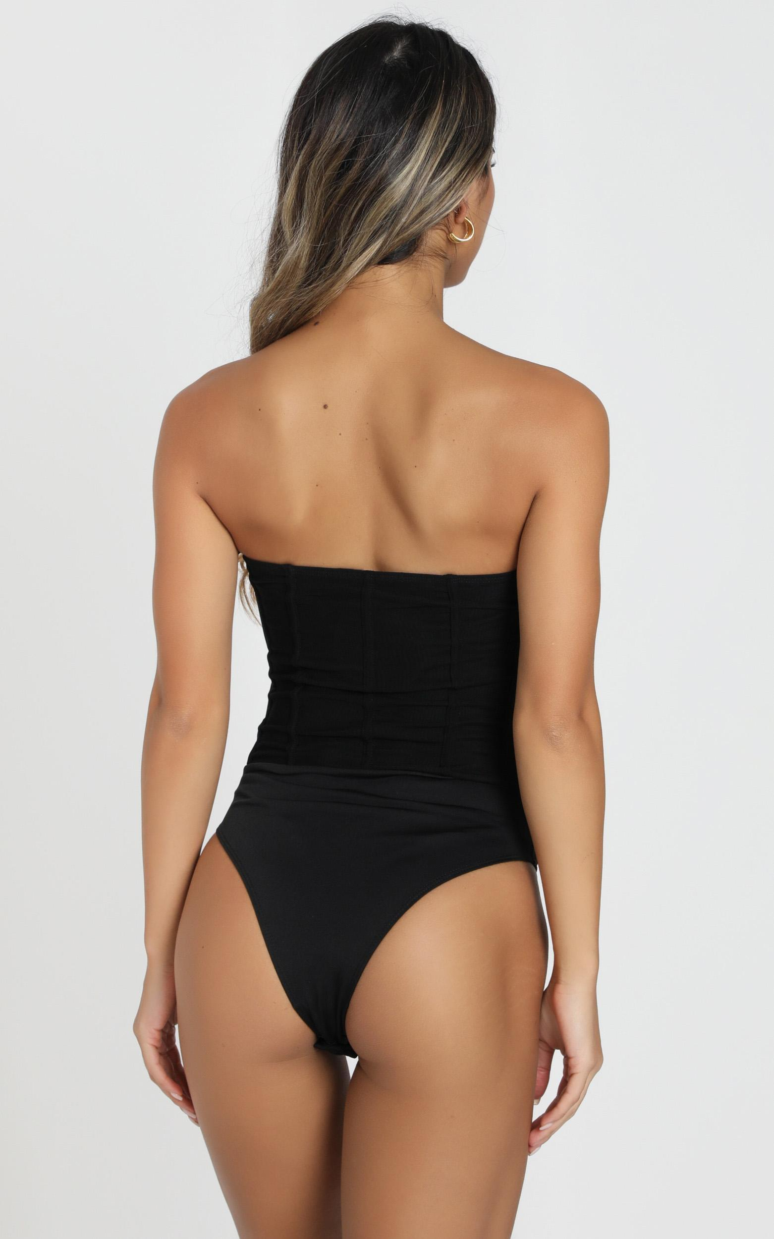 Chances Are High Bodysuit in black - 6 (XS), Black, hi-res image number null