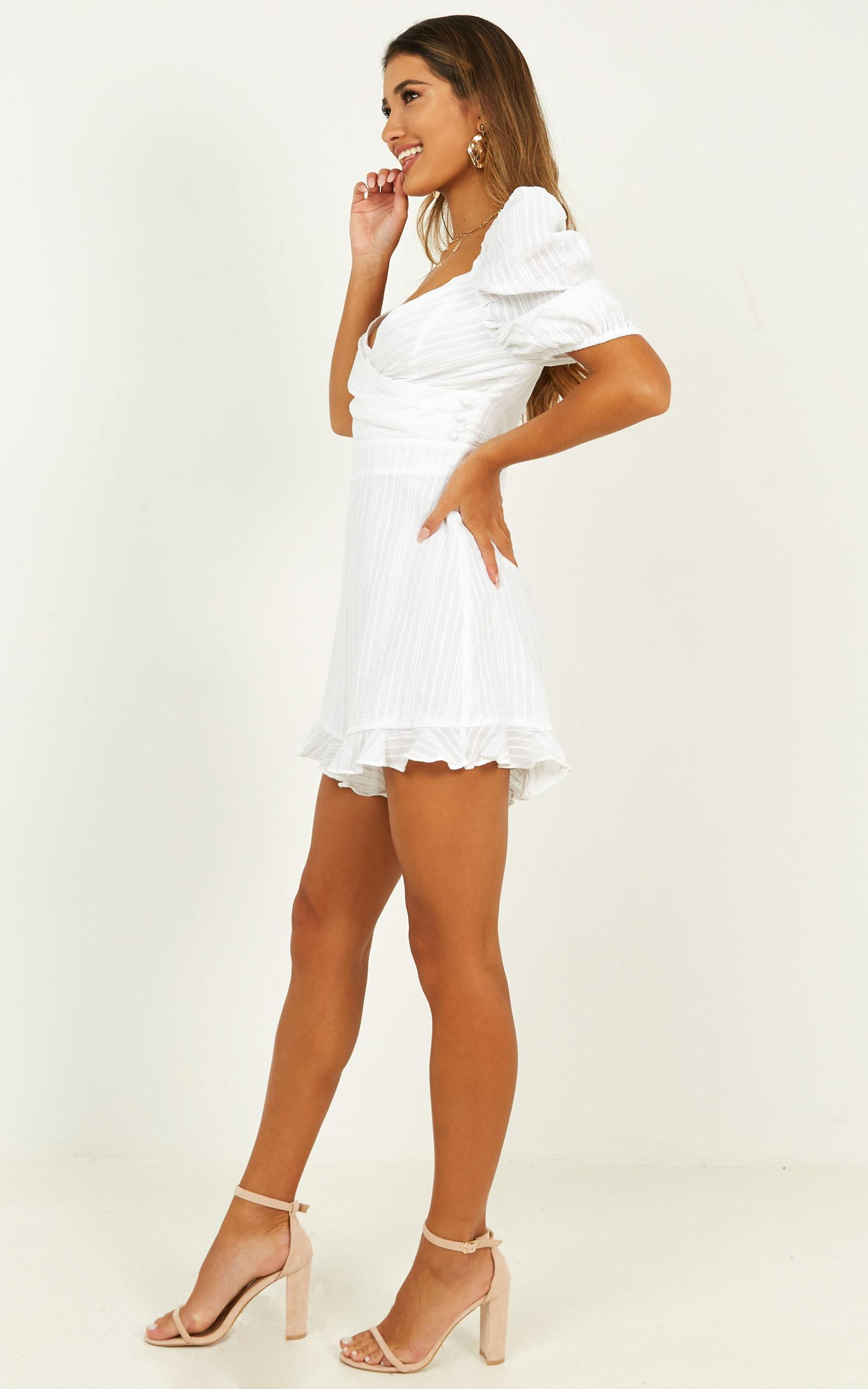 Pending Love Playsuit in white - 20 (XXXXL), White, hi-res image number null