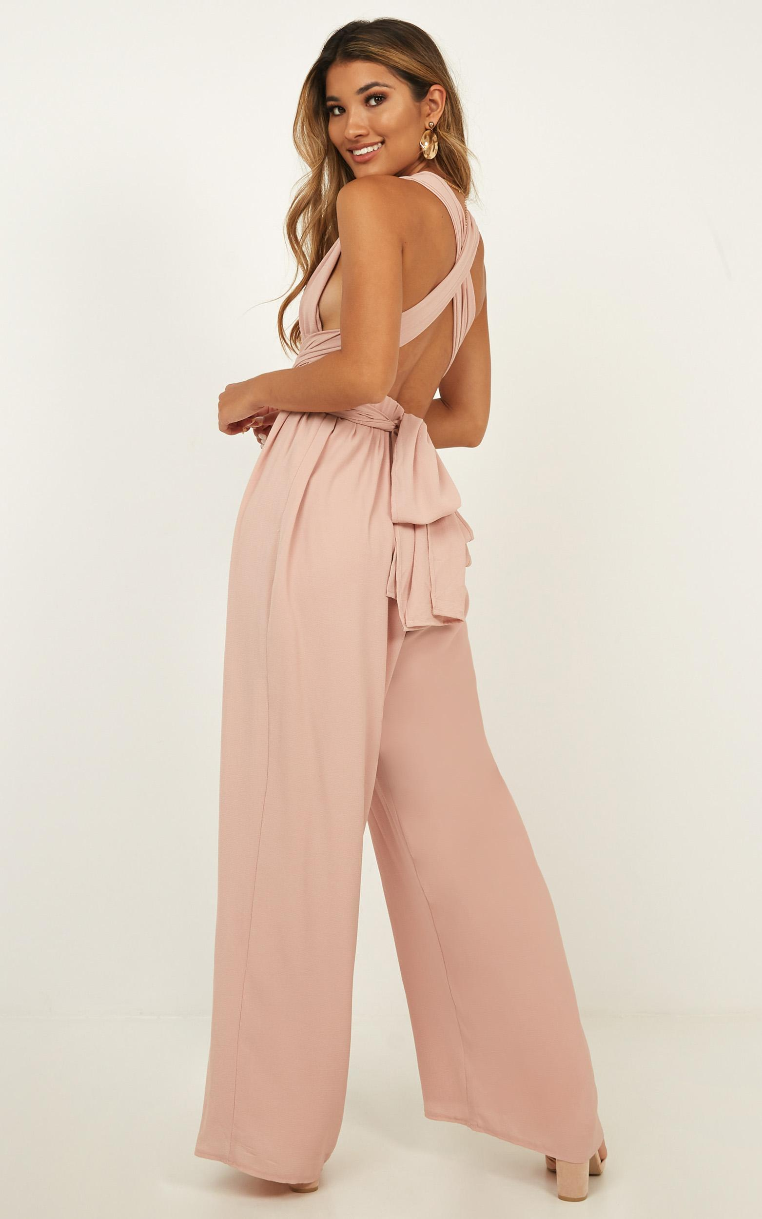 Girls Life Jumpsuit in blush - 16 (XXL), Blush, hi-res image number null