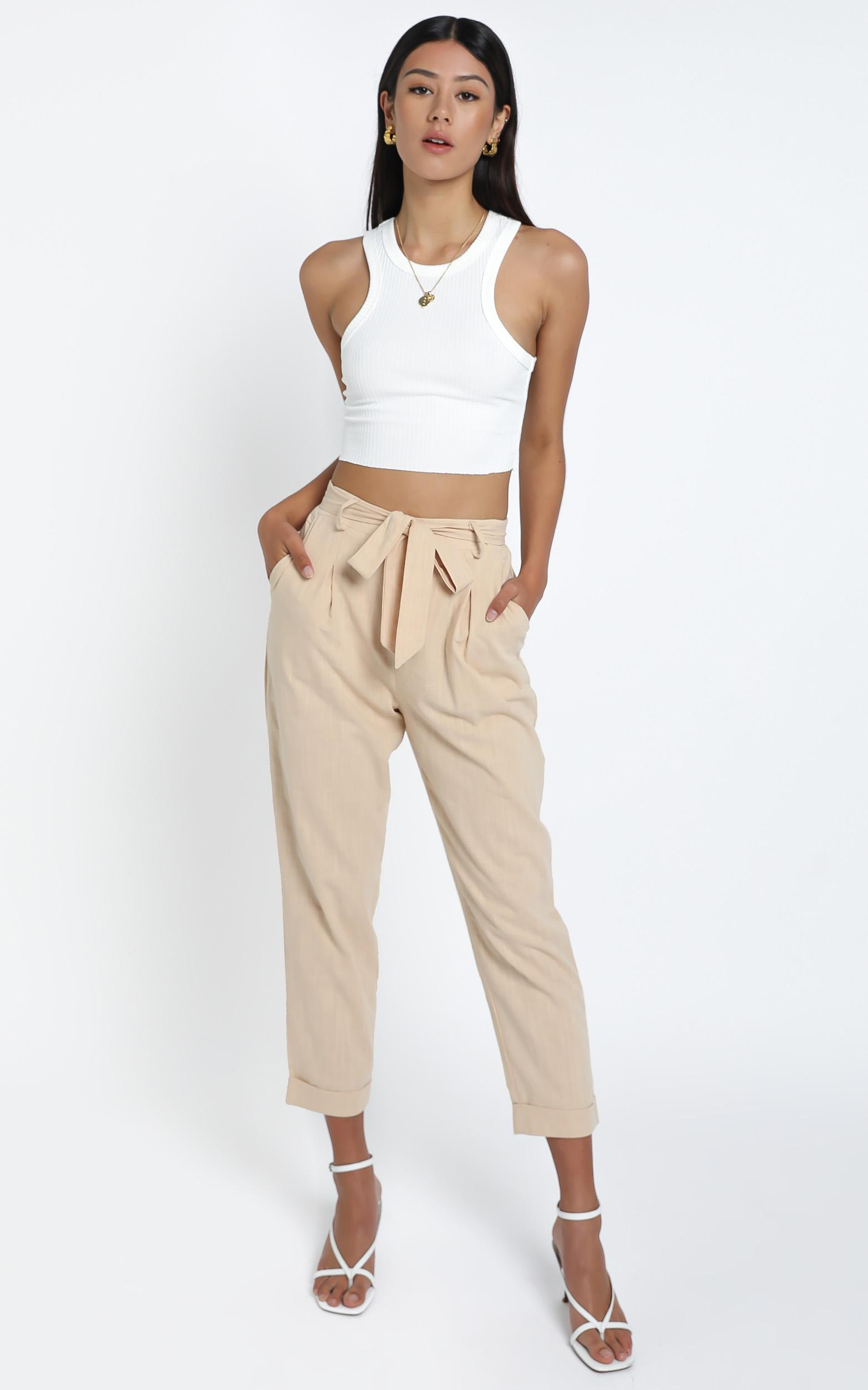 Jacy Top in White - L, WHT1, hi-res image number null