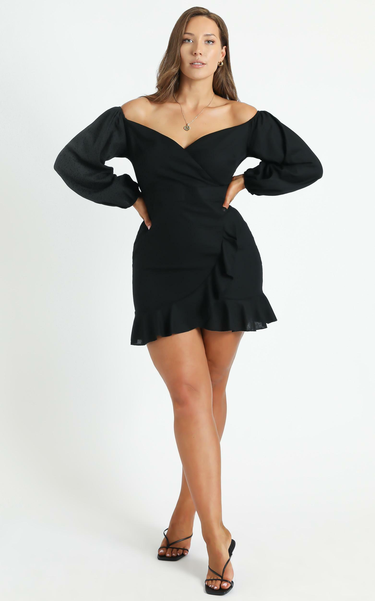 Cant Move On Dress in Black - 8 (S), Black, hi-res image number null