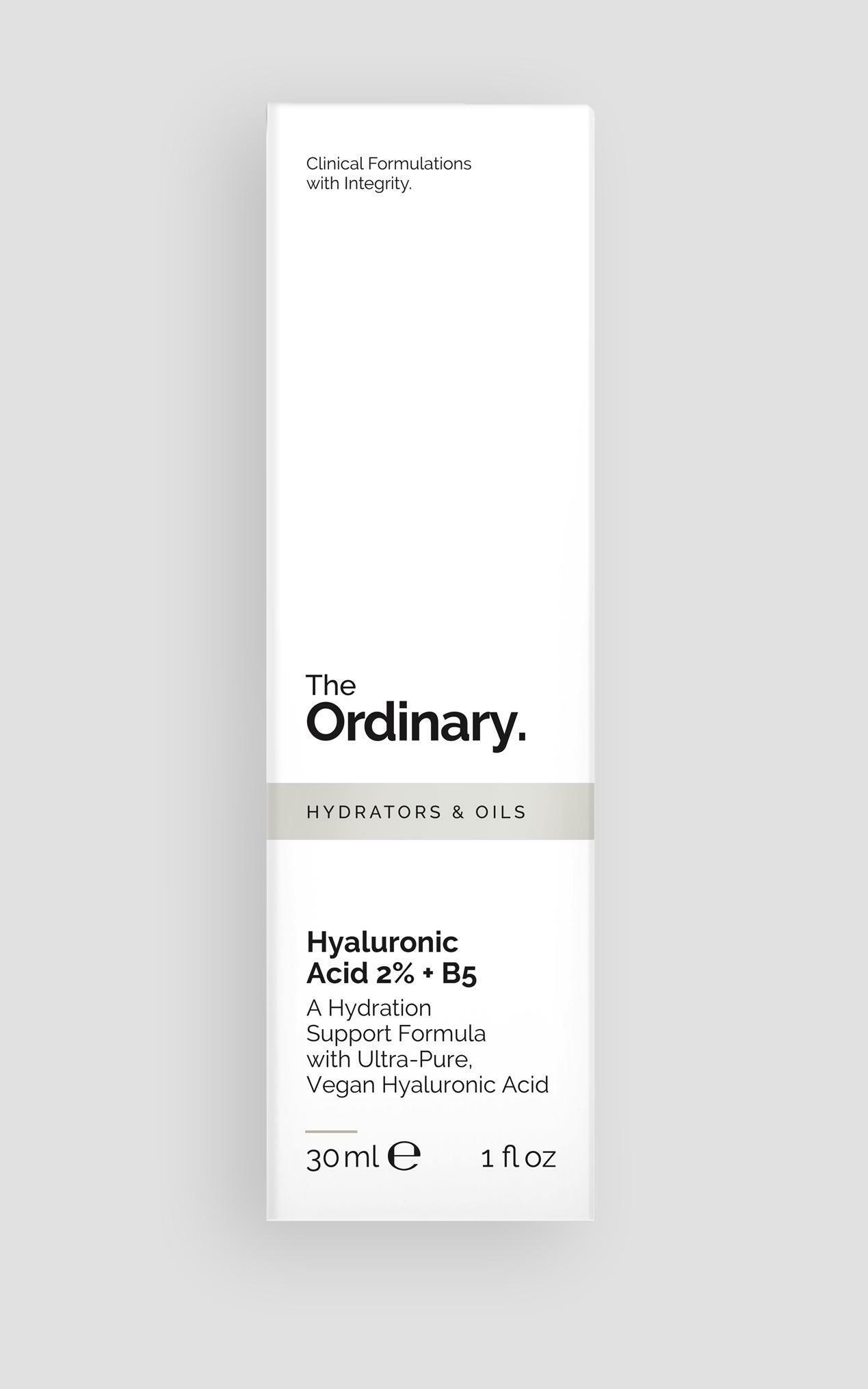 The Ordinary - Hyaluronic Acid 2% + B5 - 30ml , BLK1, hi-res image number null